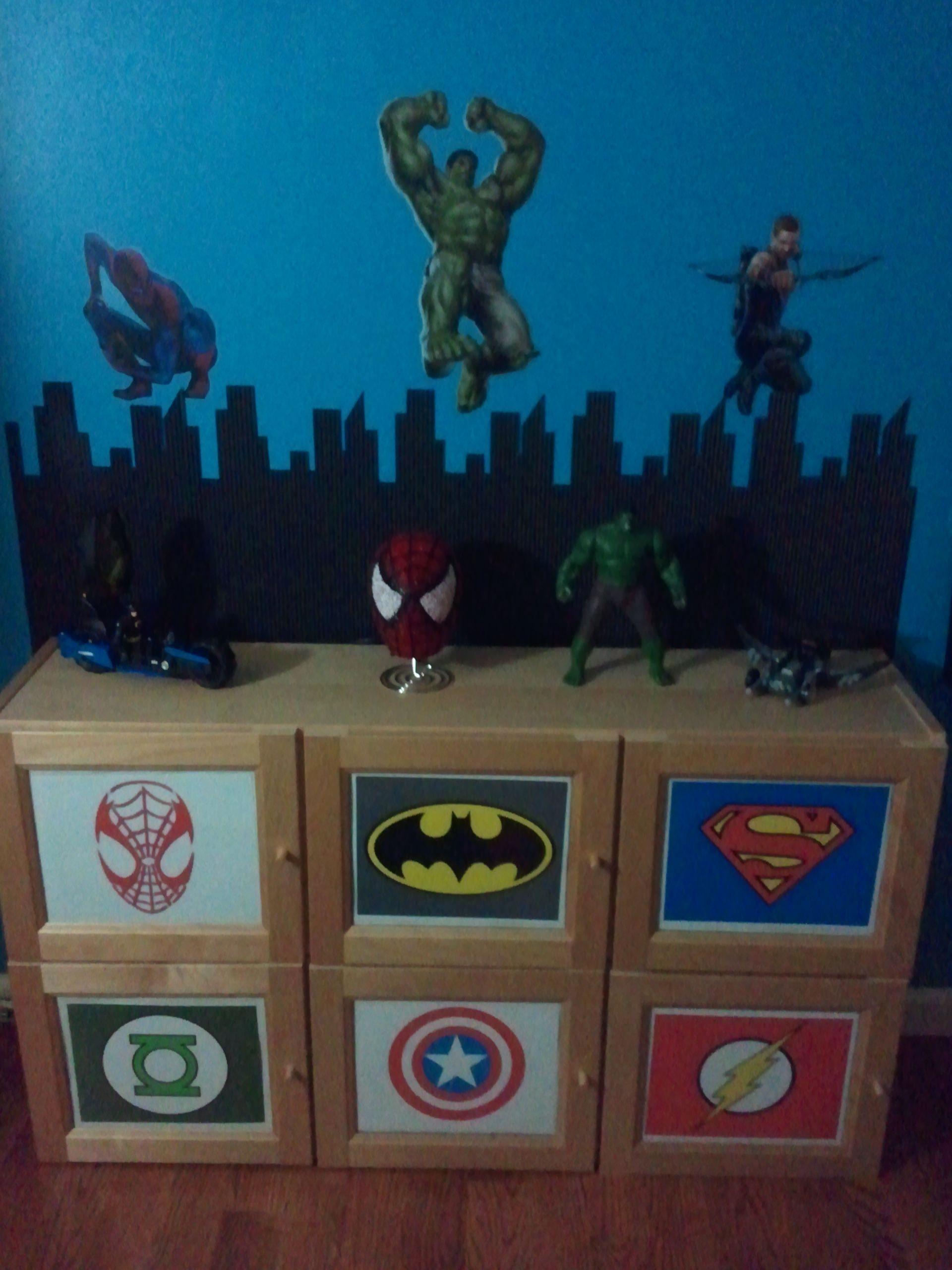 toddler super hero bedroom comic book avengers bedroom pinter