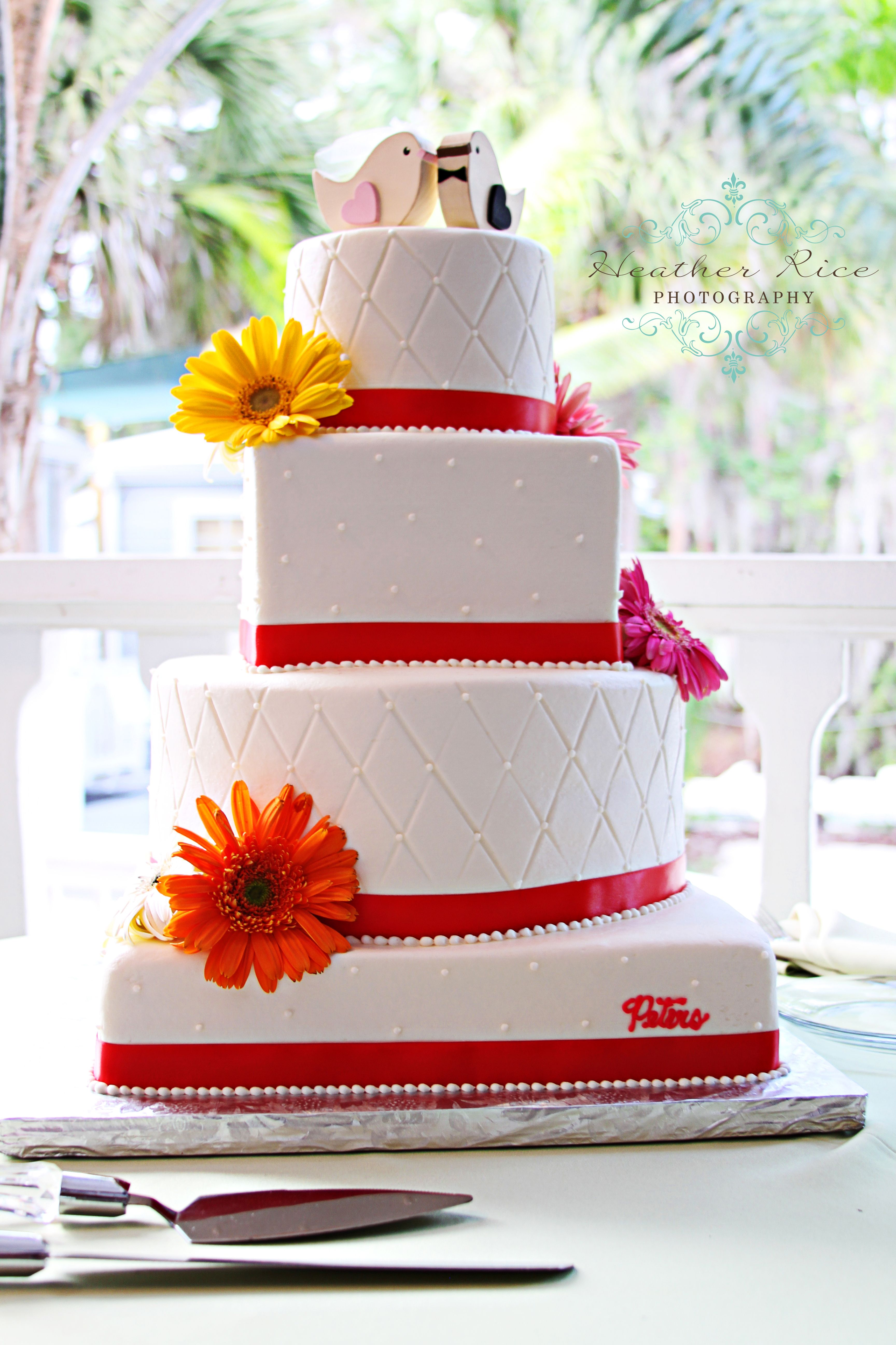 Spring wedding cake Just incase