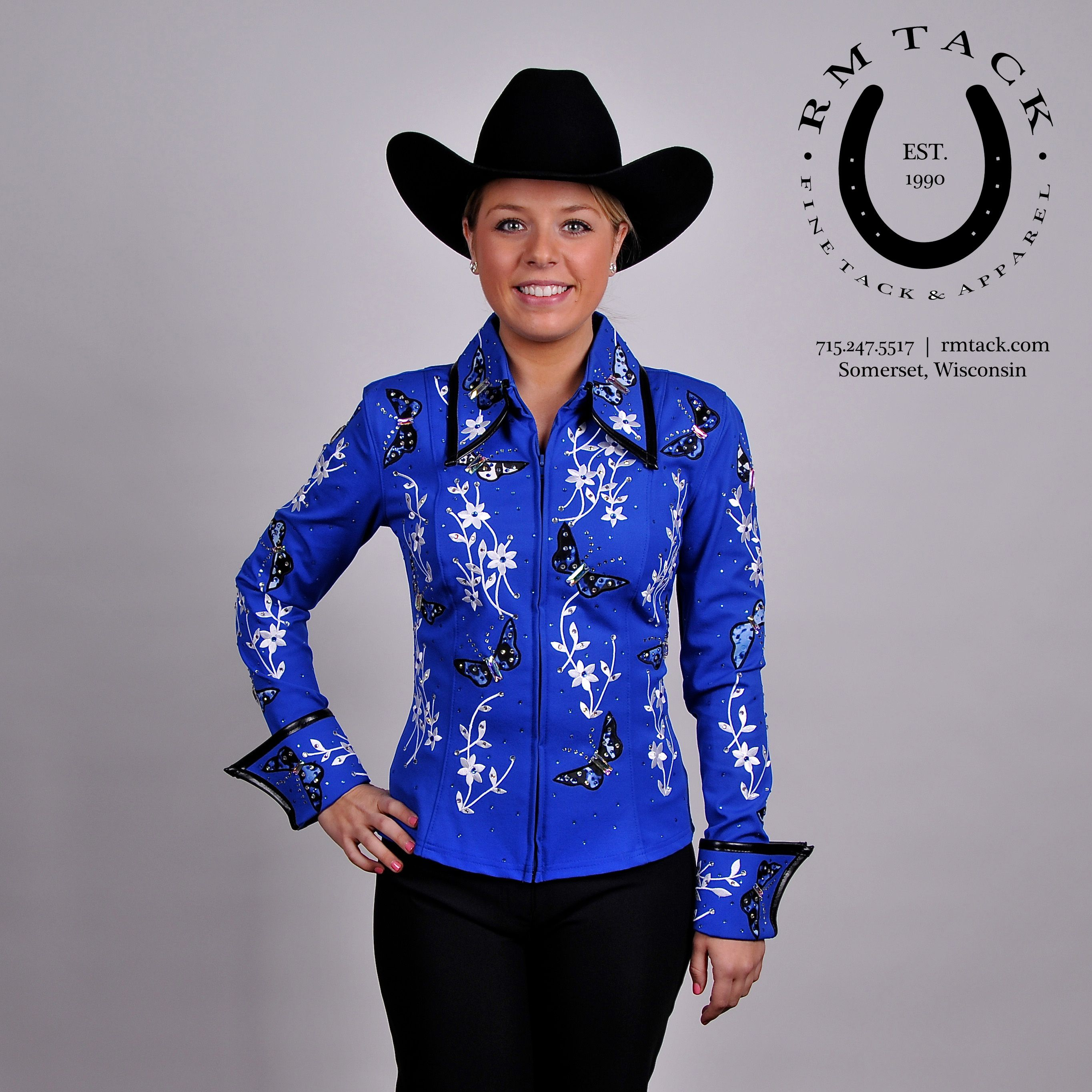 Custom Western Show Blouse Smart Casual Blouse