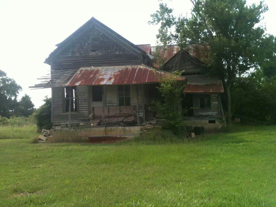 Old Abandoned Home In Cullman Al Love Ghost Towns