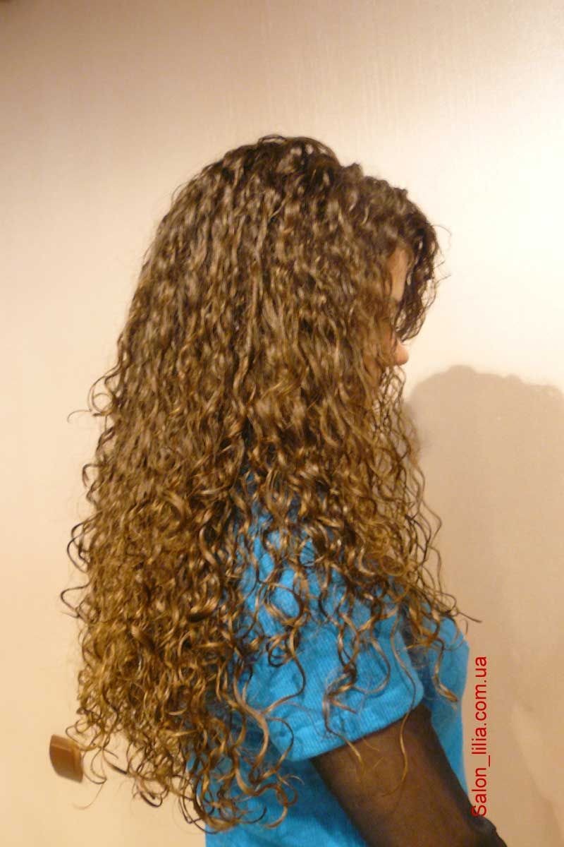 Hairstyle After Perm : Beautiful long hair perm texture. Pretty Hair & Makeup Pinterest
