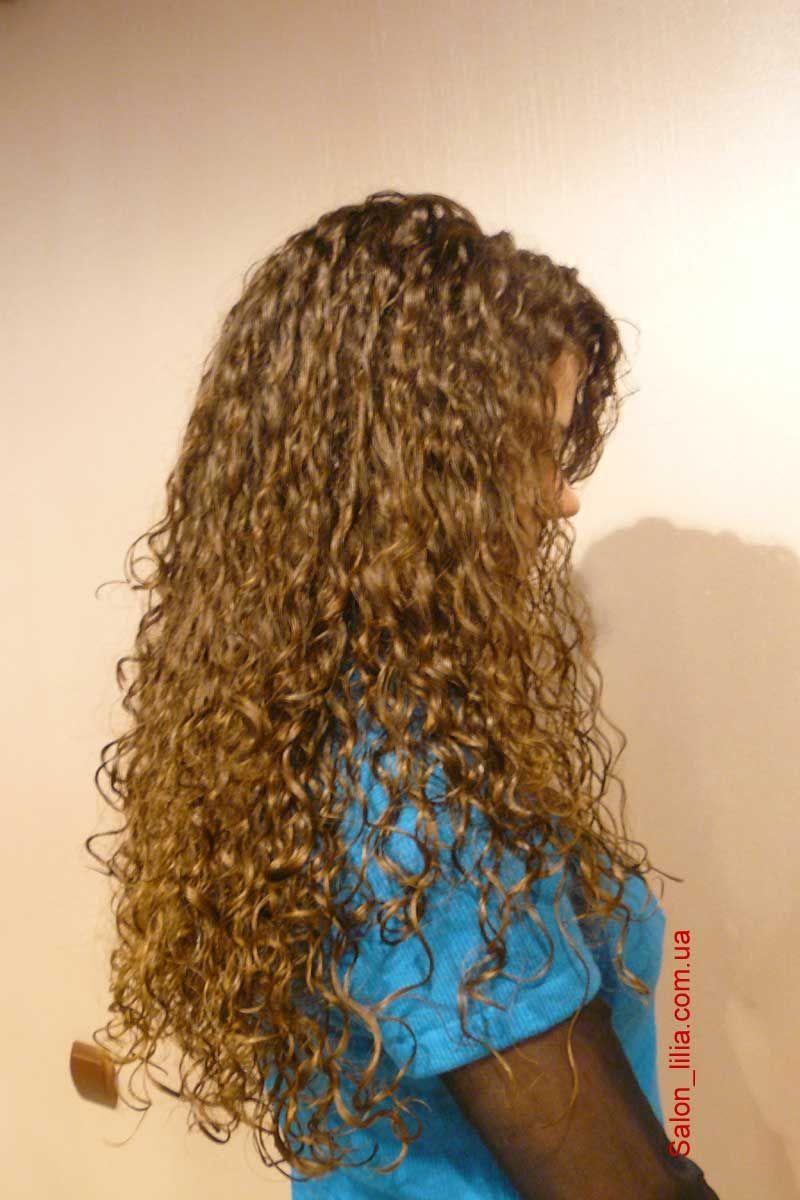 Beautiful long hair perm texture. | Pretty Hair & Makeup | Pinterest