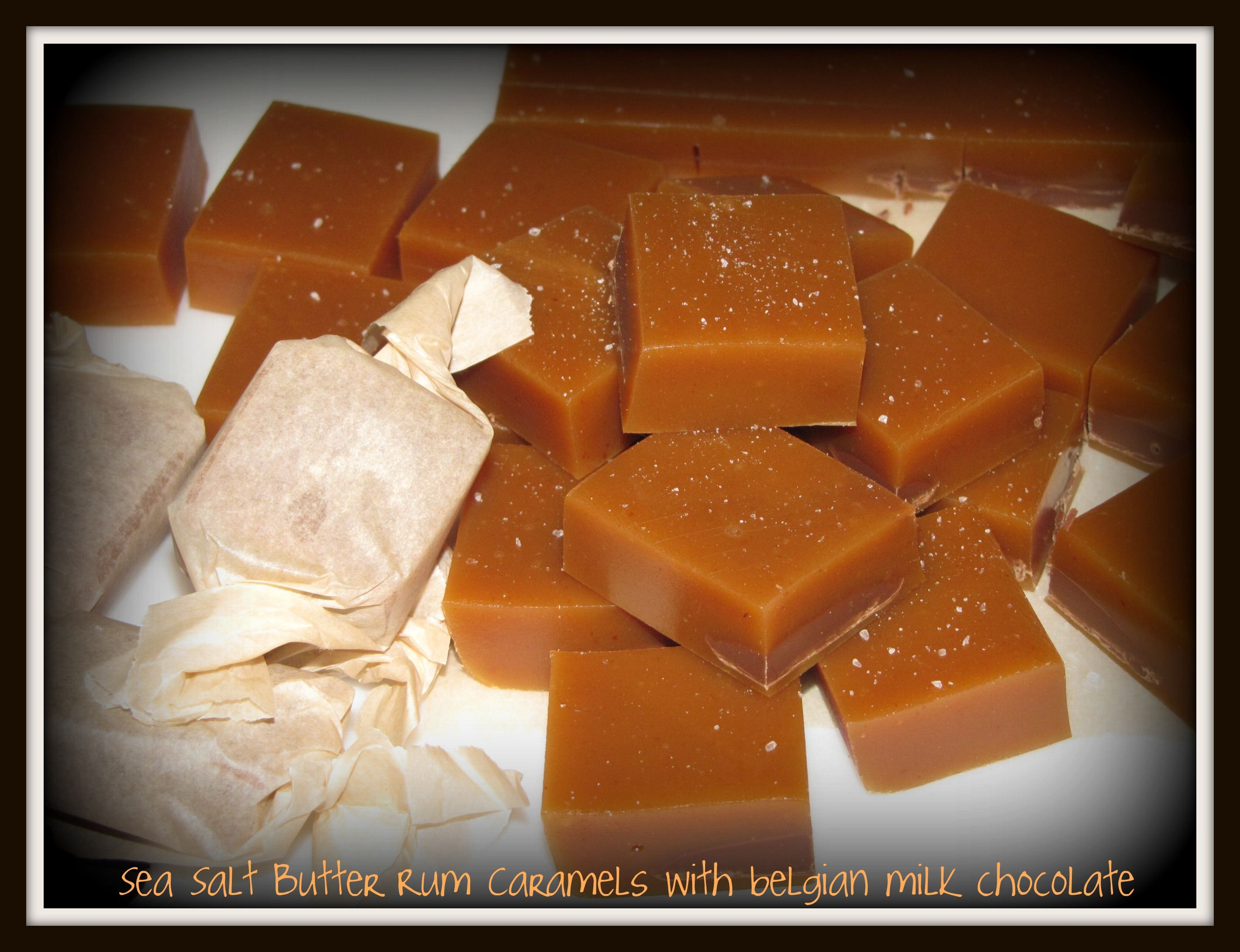 Butter Rum Caramels Recipe — Dishmaps