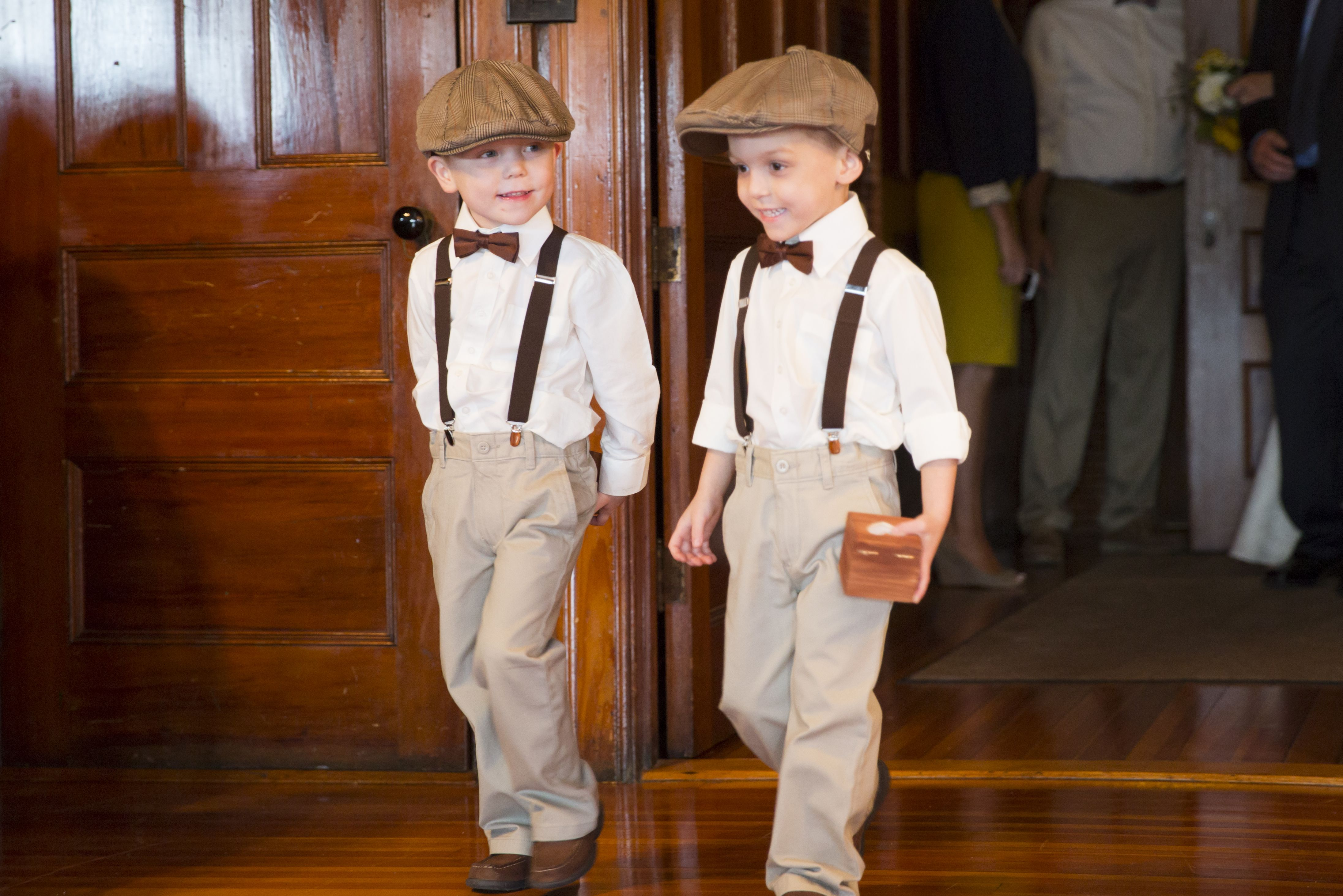 Ring Bearer Outfits For Rustic Wedding