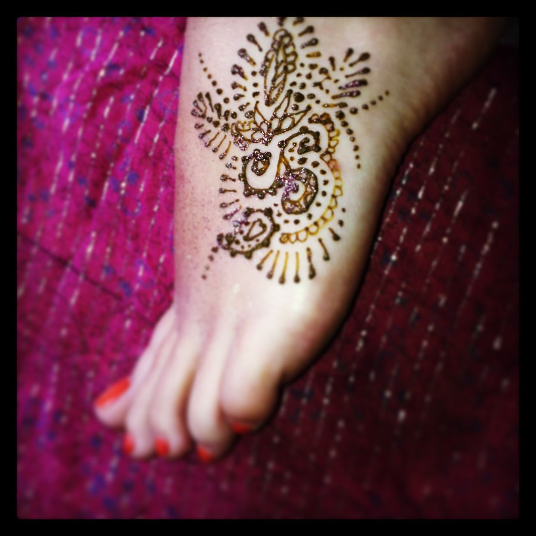 Mehndi Patterns Small : Small henna design for foot pinterest