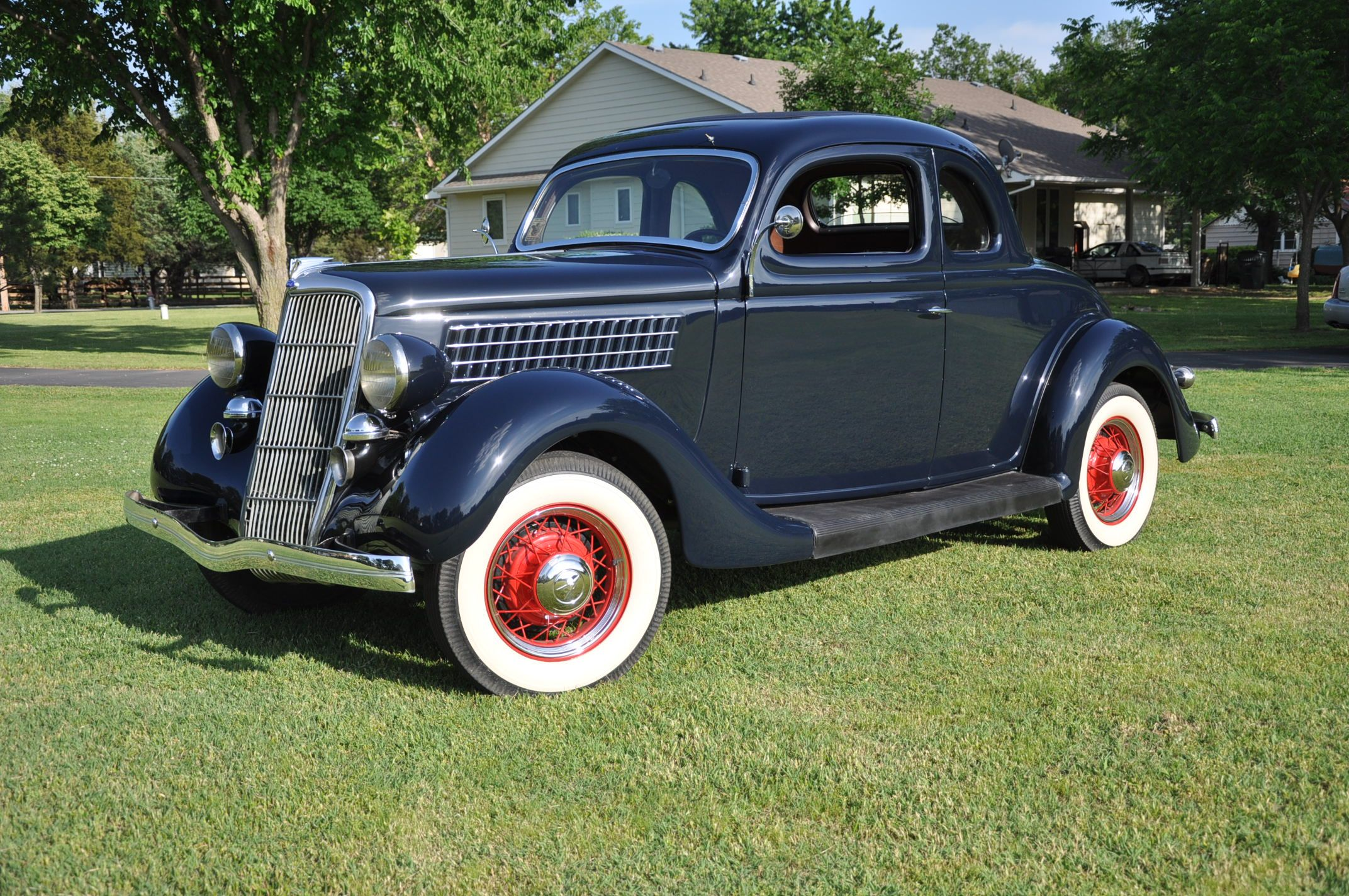 1935 ford 3 window coupe motor 39 n tv cars and motorcycles for 1935 ford 3 window
