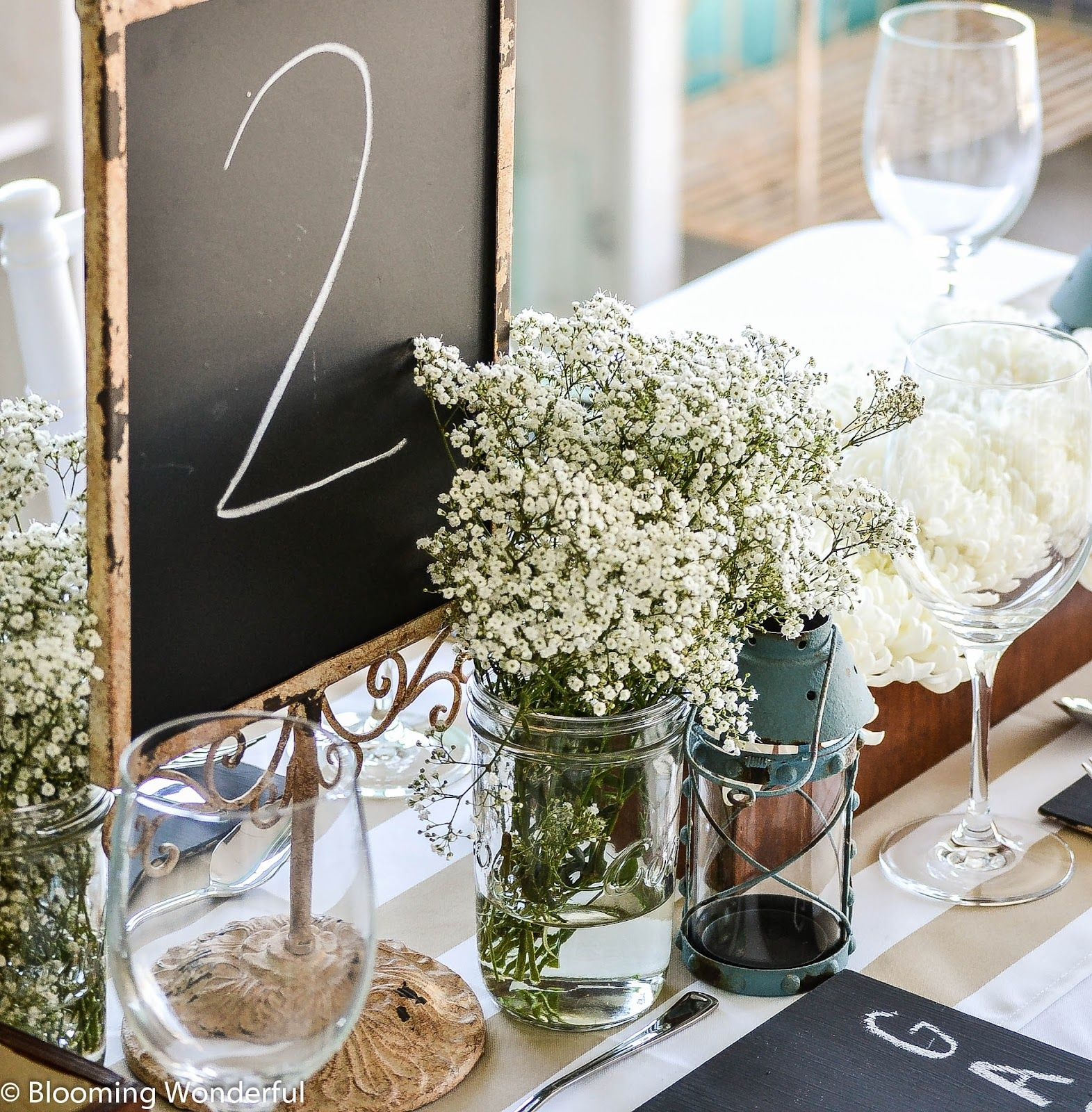 DIY Rustic Ideas Wedding Receptions Pinterest