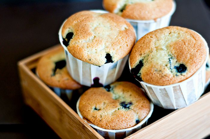 Blueberry coffee cake muffins | ♥Food♥ | Pinterest