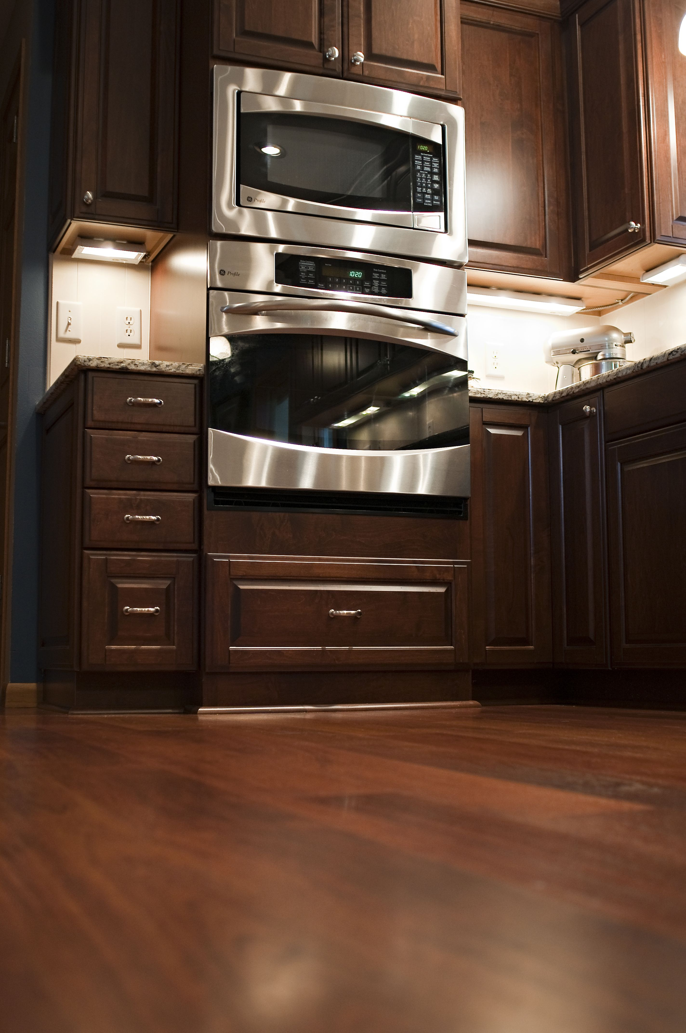 Microwave Oven Cabinet ~ Microwave and oven cabinet home ideas pinterest