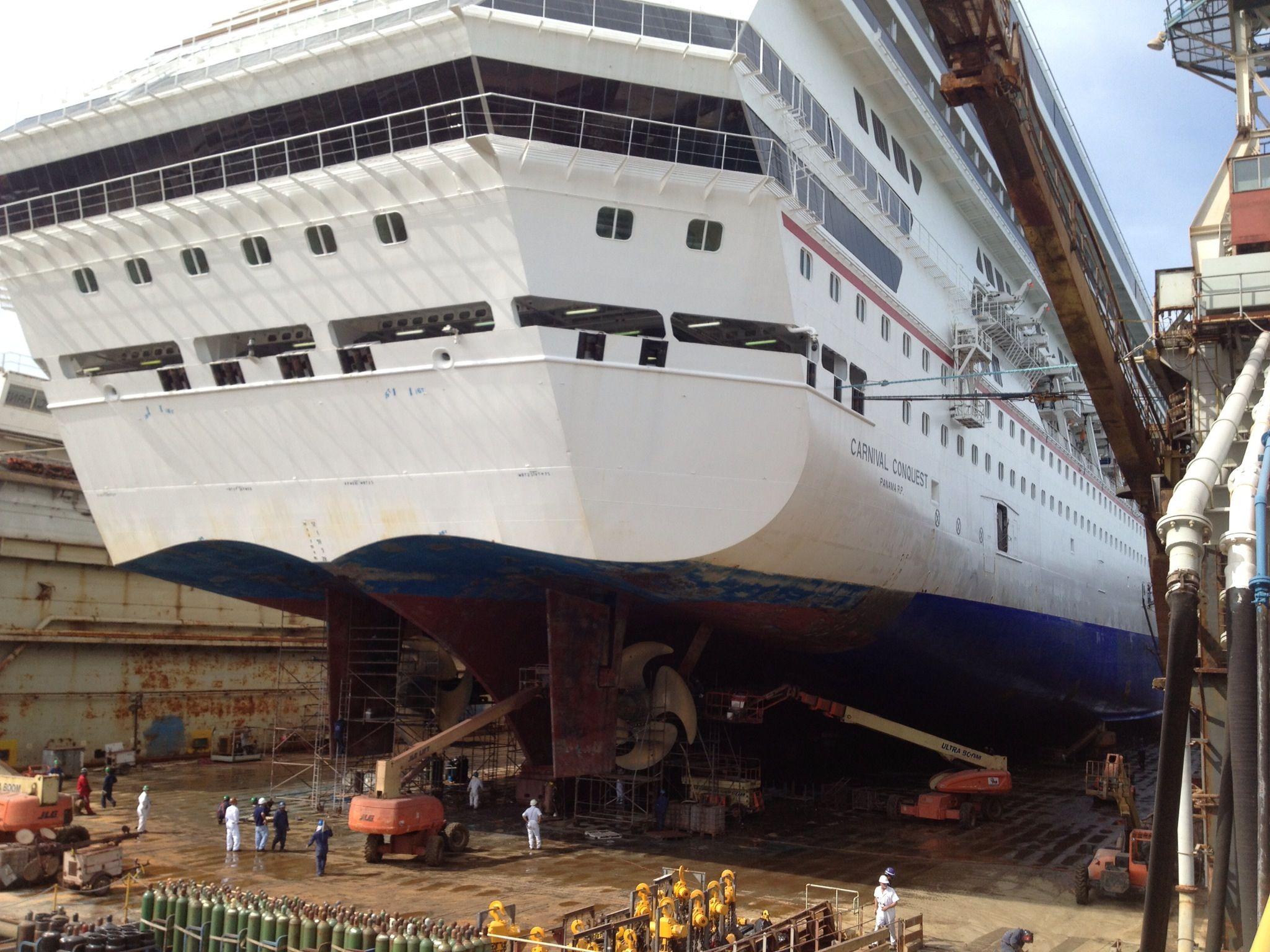 Cruise Ship Dry Dock   Fitbudha.com