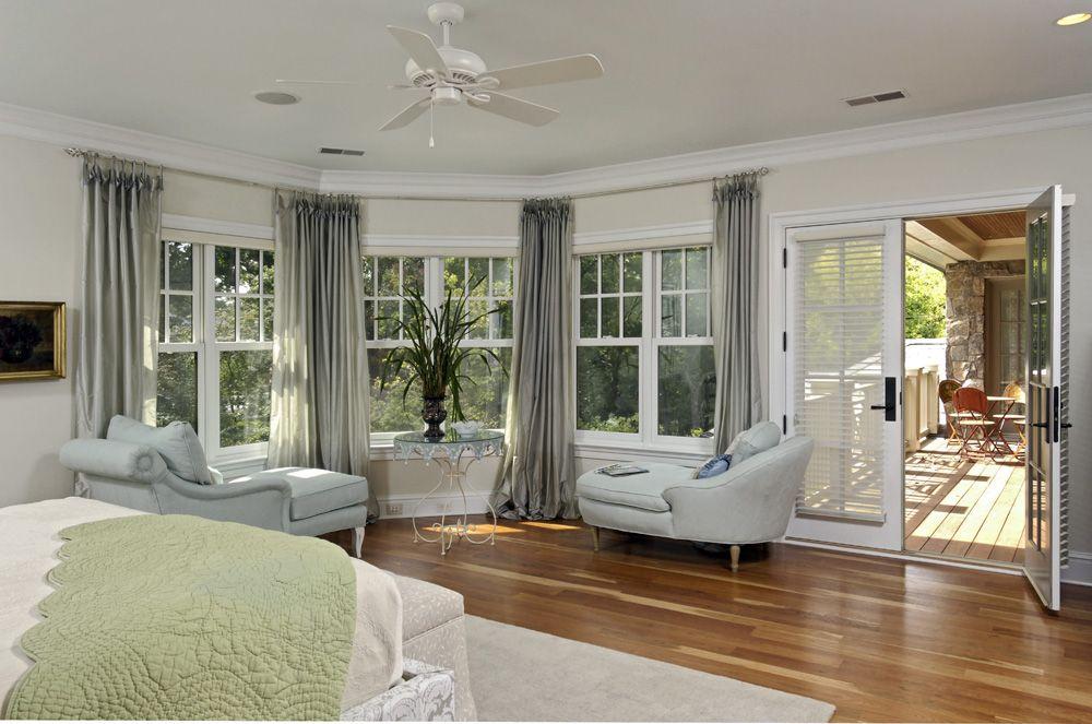 Master suite minus the wood flooring