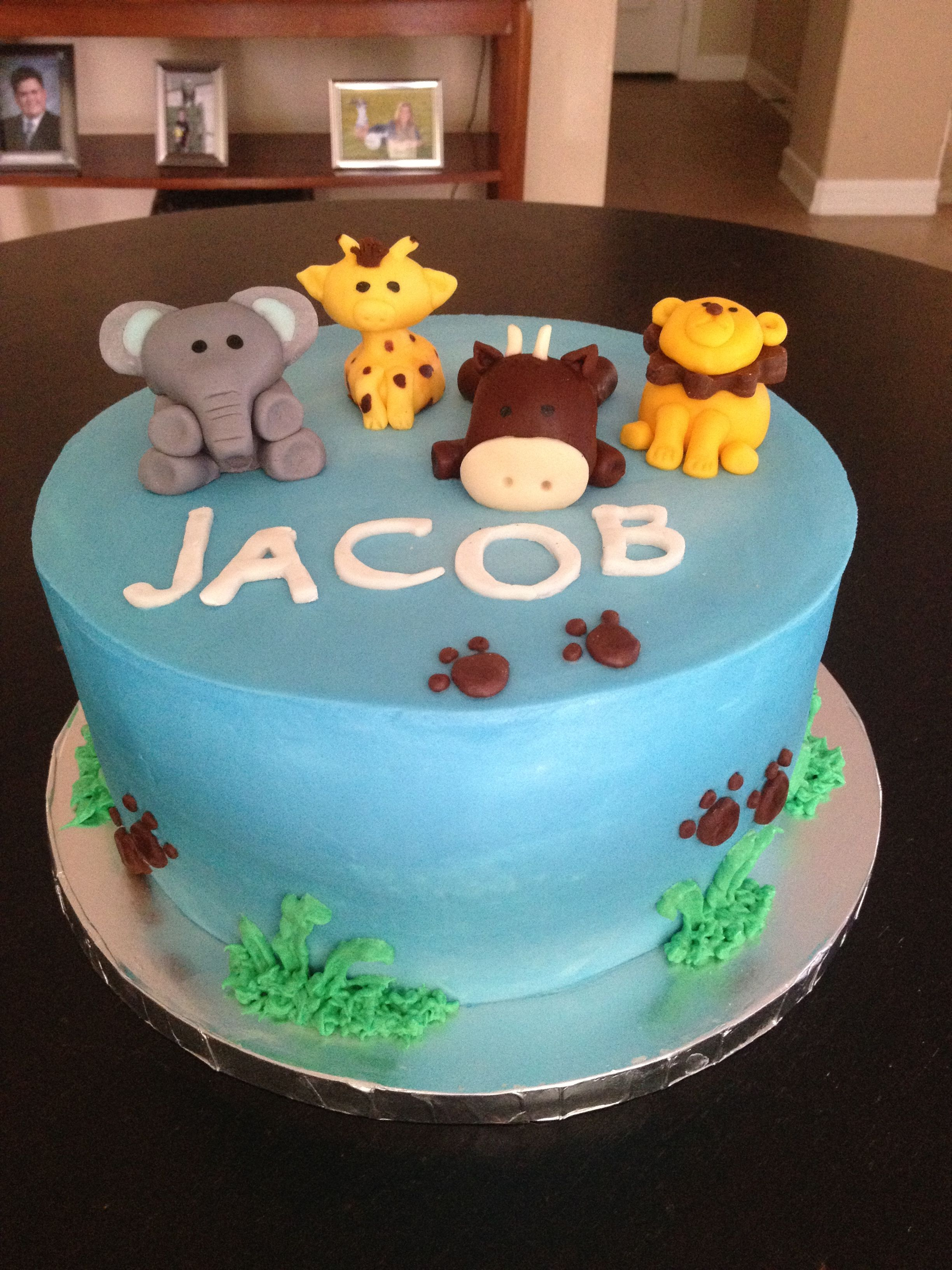 Zoo Themed Baby Shower Cakes Shower Cakes Zoo Animals