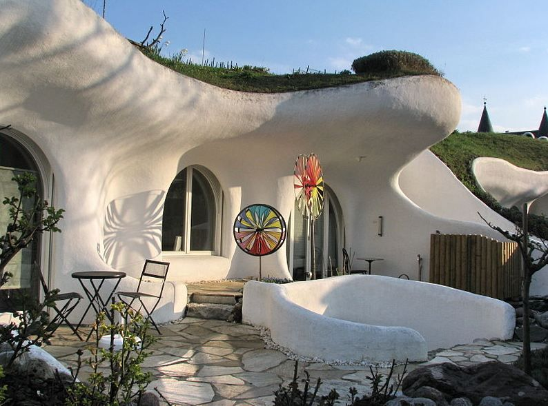 Earth home in switzerland earth underground dome homes for Earth house switzerland