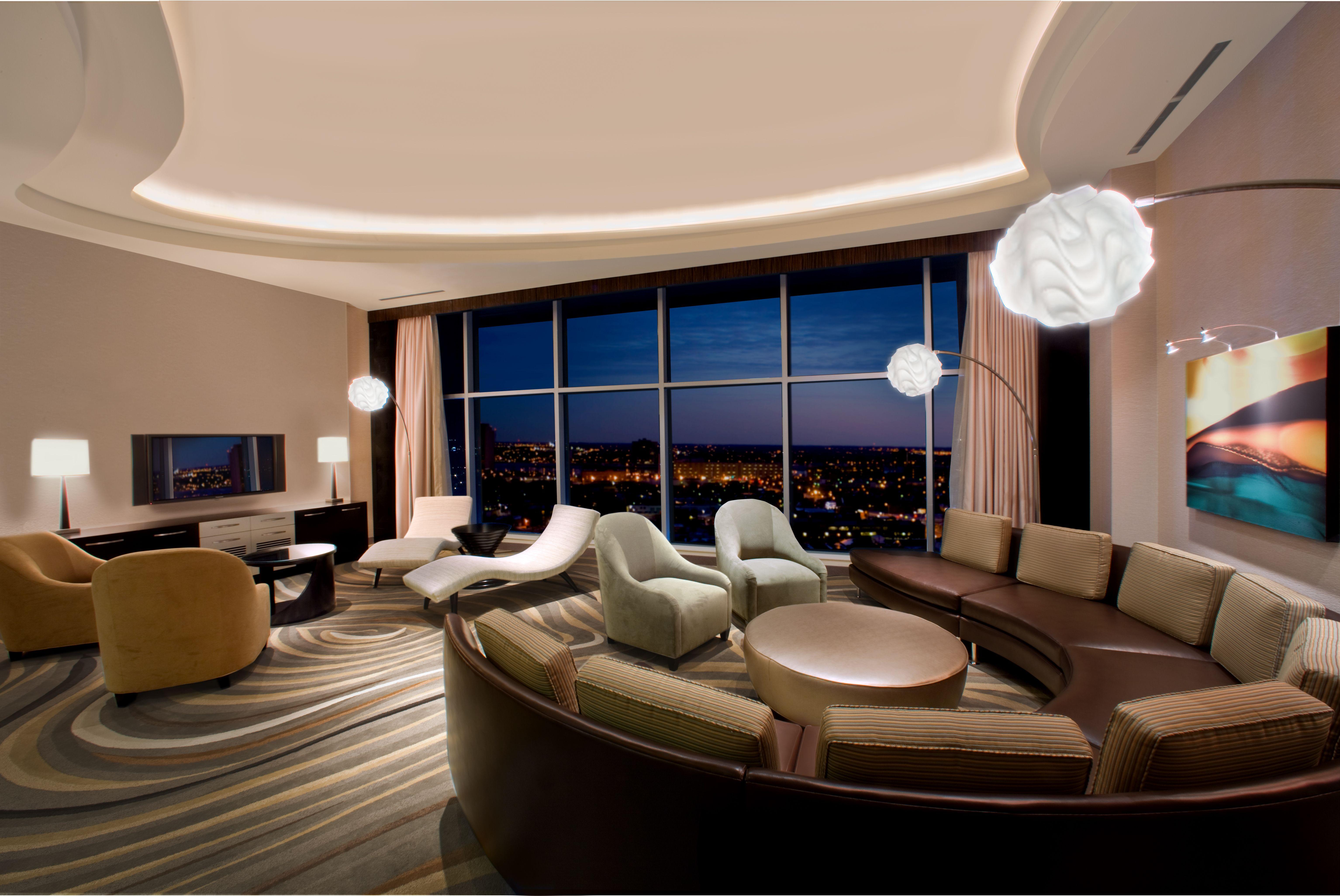 motorcity casino hotel suite detroit pinterest