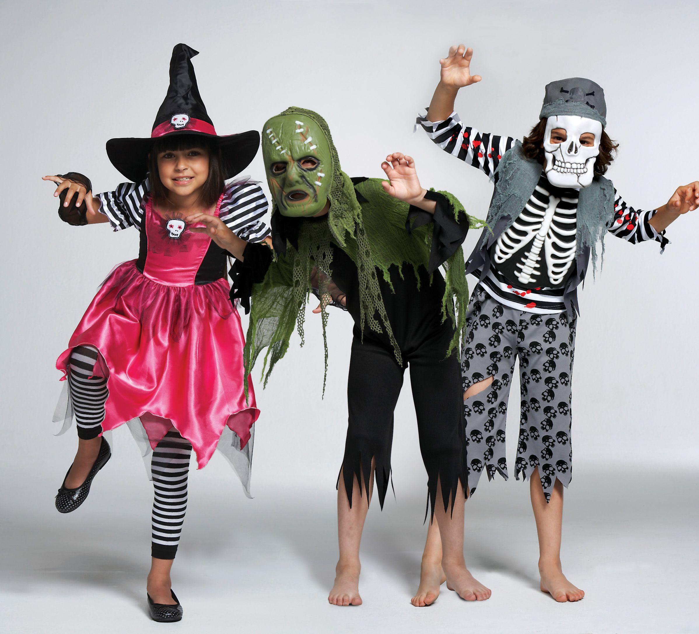 Детские костюм на хэллоуин своими руками