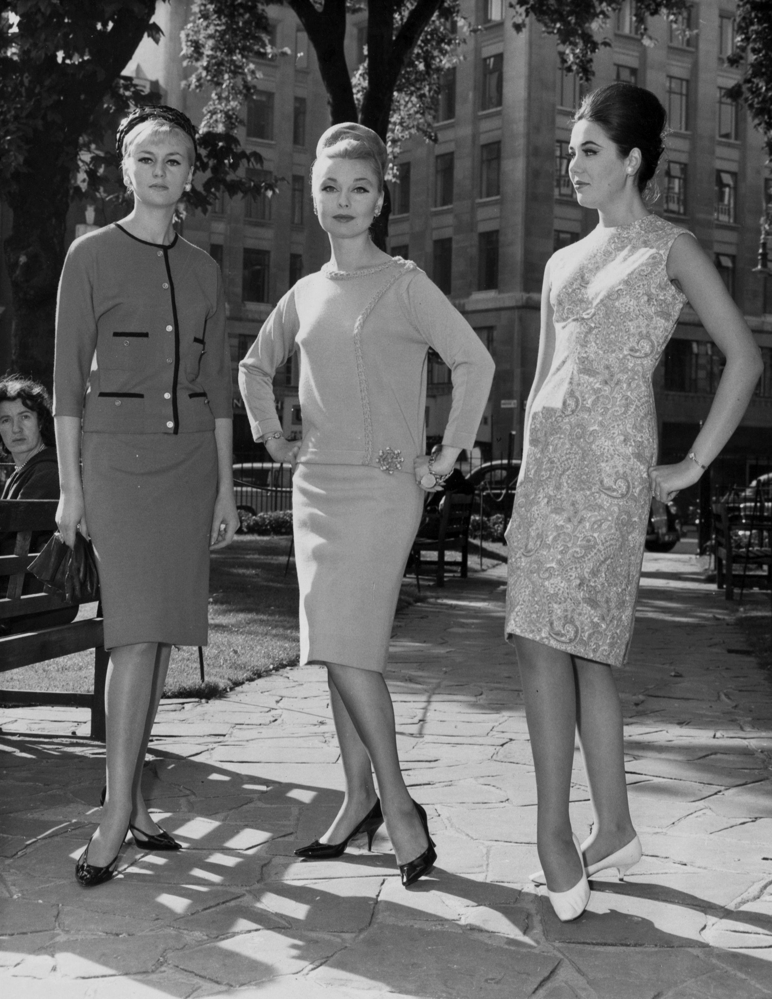 Early 1960s fashion men