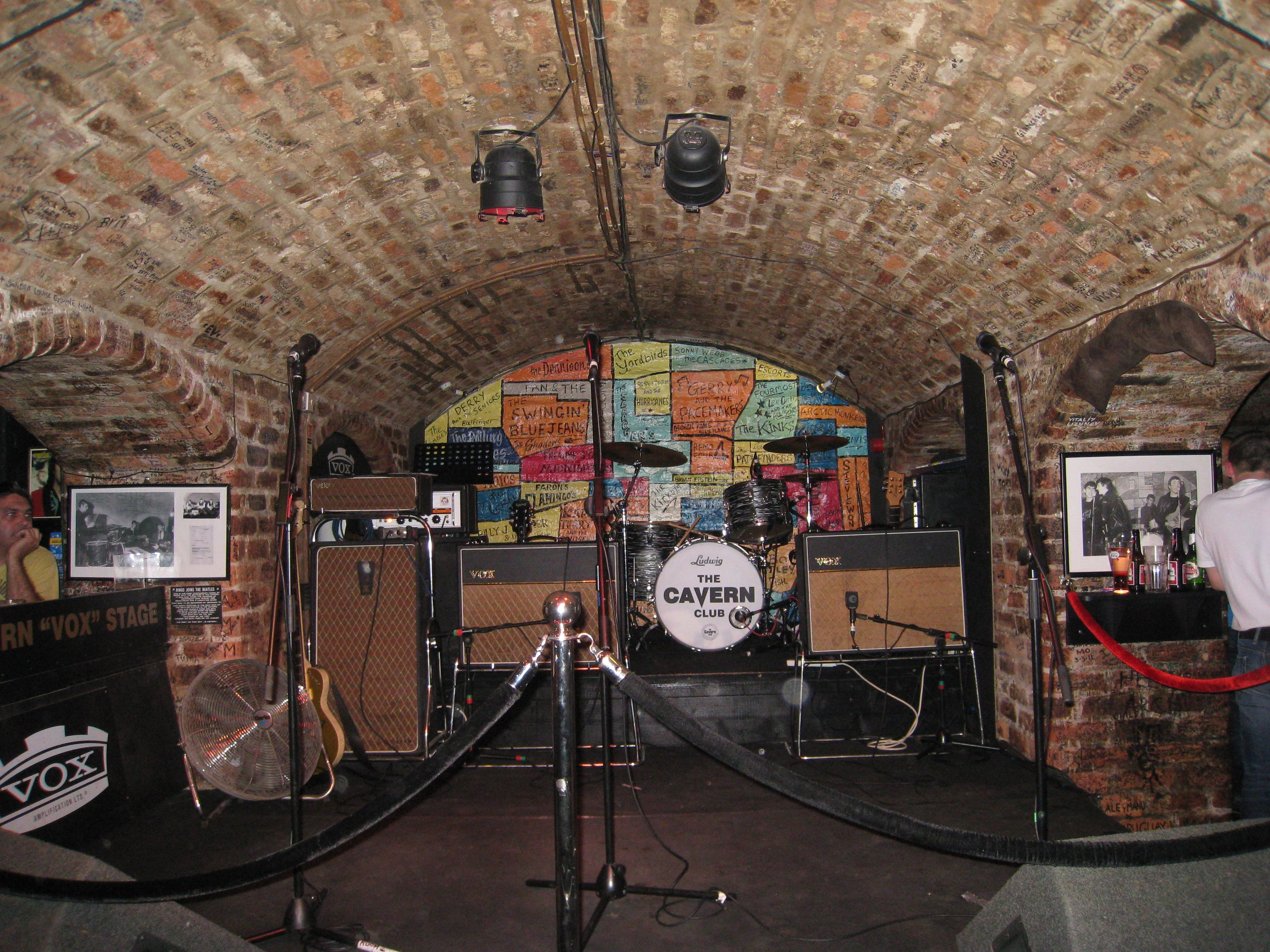 Pictures of the cavern club liverpool The Lounge & Bar - Hard Days Night Hotel, Liverpool City