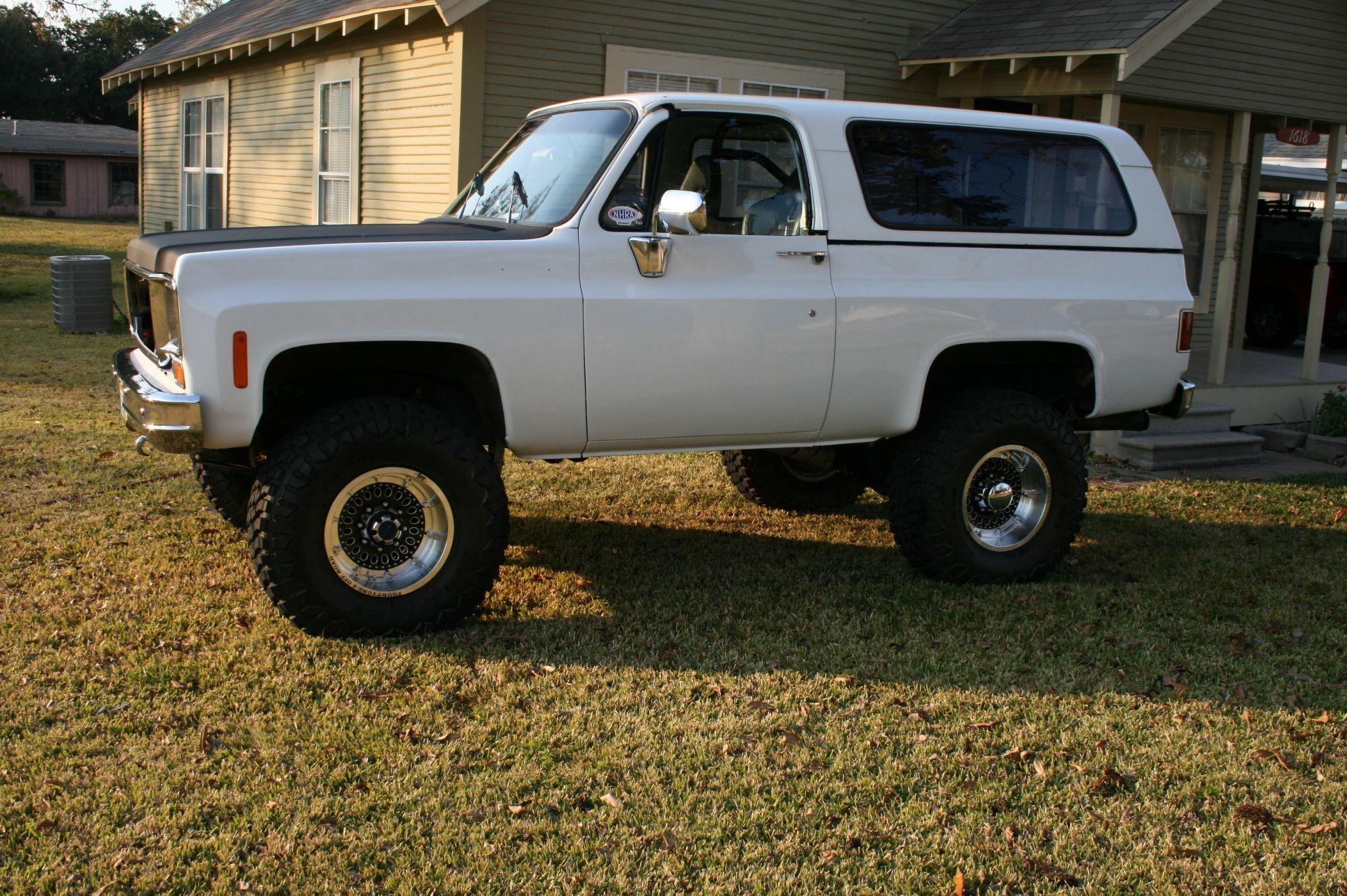 My White 1974 K5 My Chevy K5 Blazers Pinterest