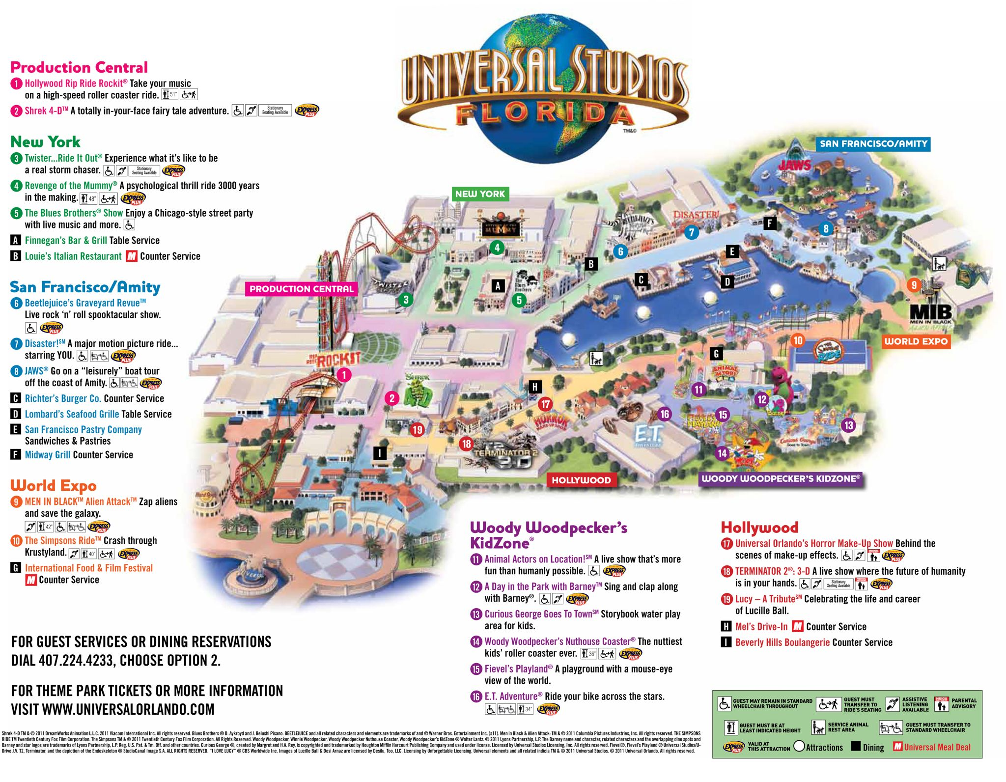 Universal Park Map Florida Visit Ideas Pinterest