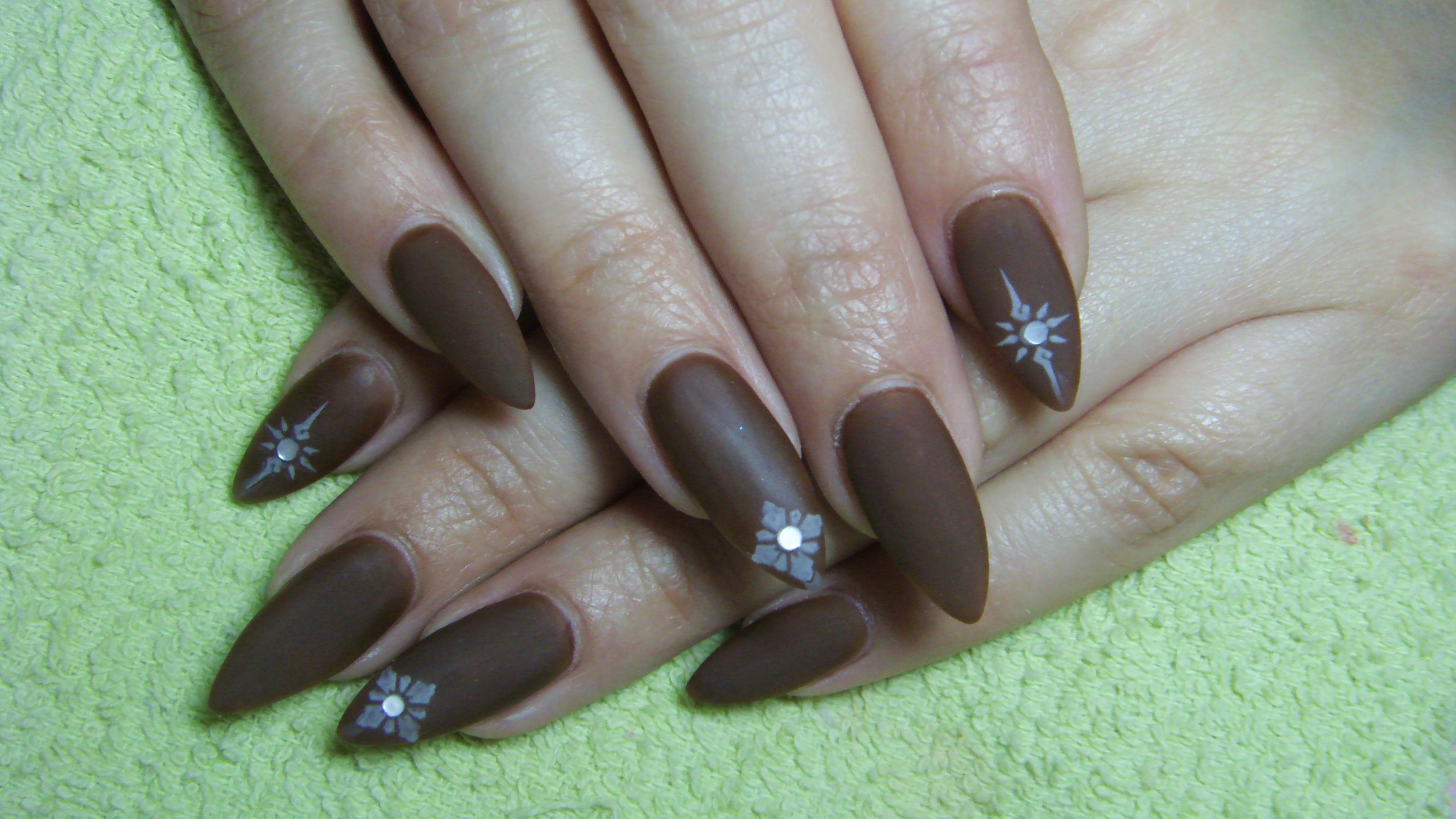 ... Matte Blue Nail Designs Almond in addition Black Matte Nail Polish. on