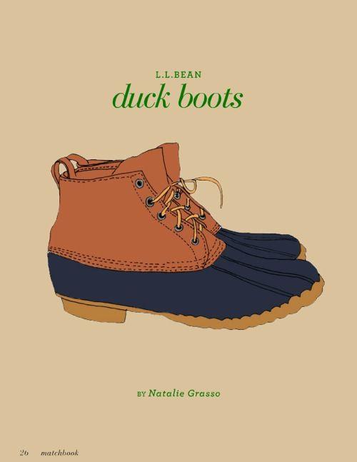 Ll bean duck boots preppy - photo#10