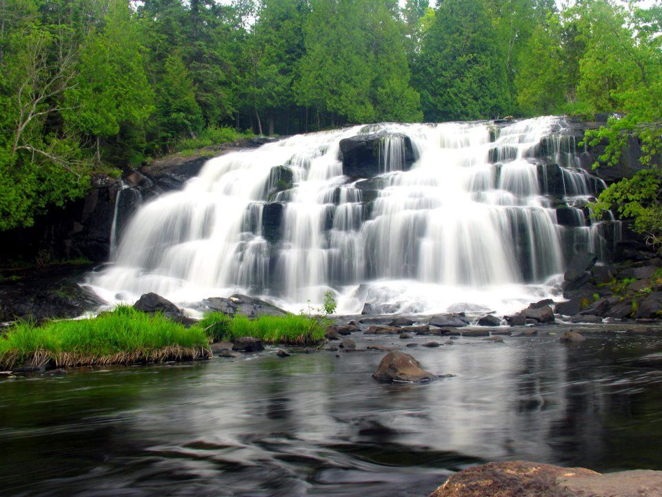 michigan upper peninsula waterfalls - photo #3