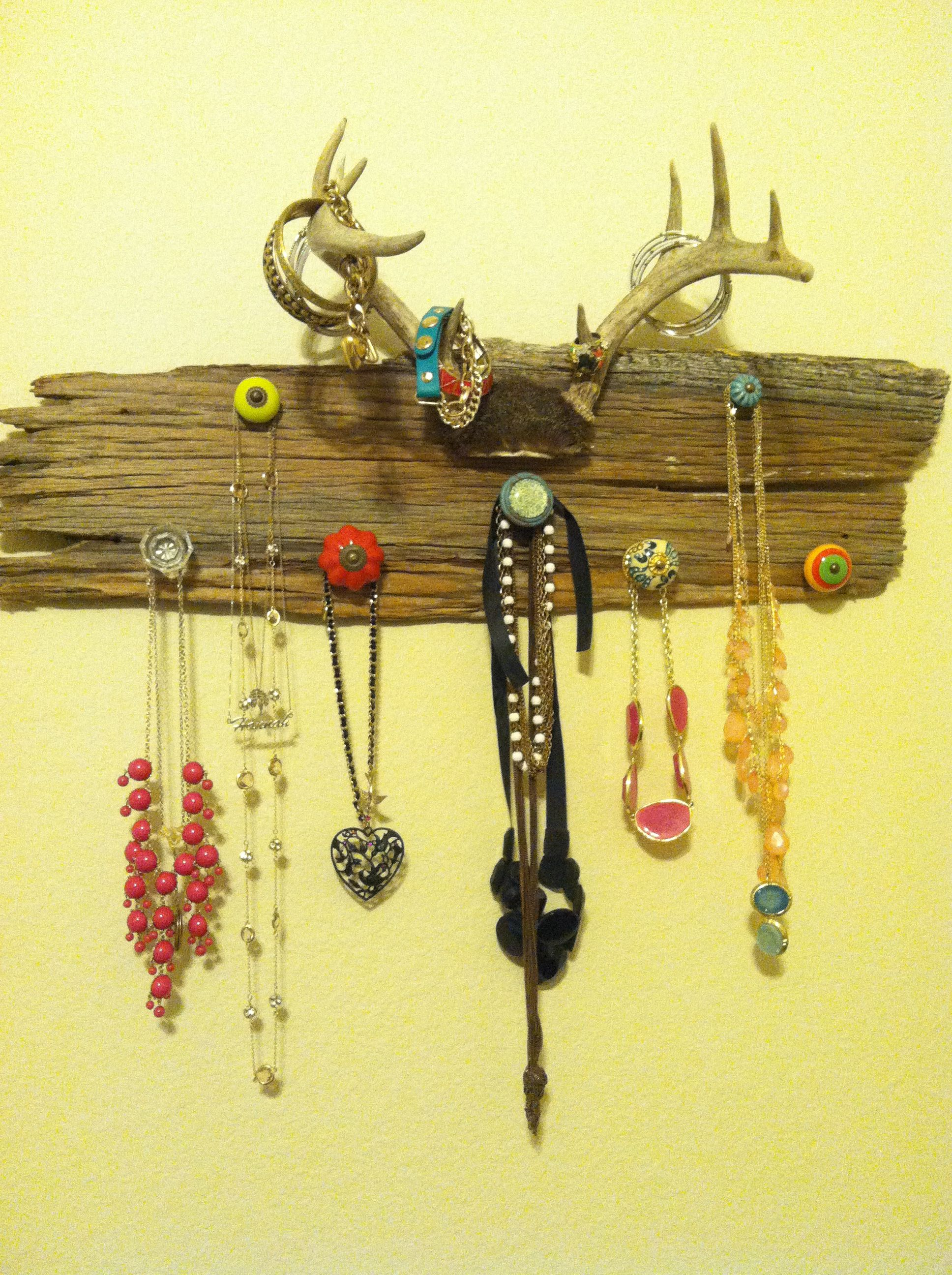 1000 ideas about antler jewelry holder on