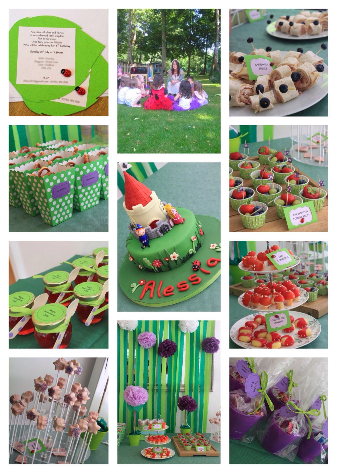 1000 Images About Festa A Tema Ben E Holly On Pinterest Tinkerbell Fairies Cakes And