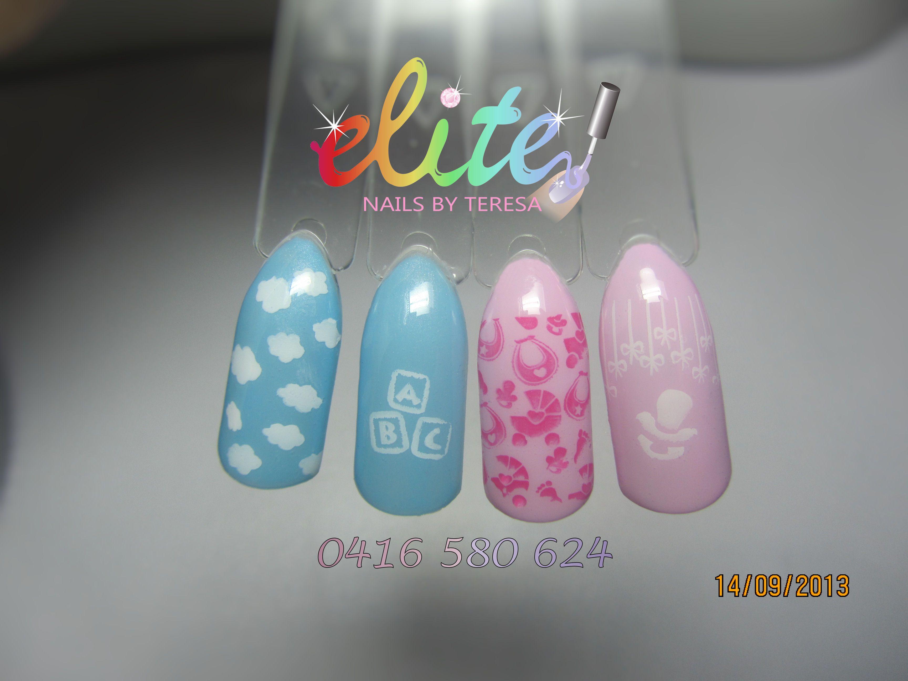 baby shower nails general nail design ideas pinterest