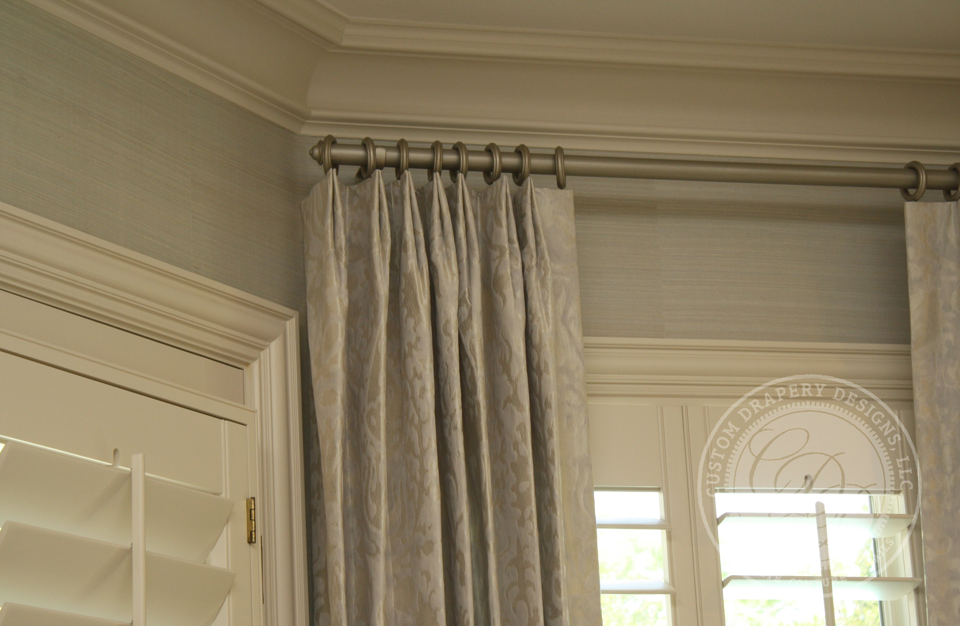 Custom Drapery Designs, LLC. - Details  window treatments, panels ...