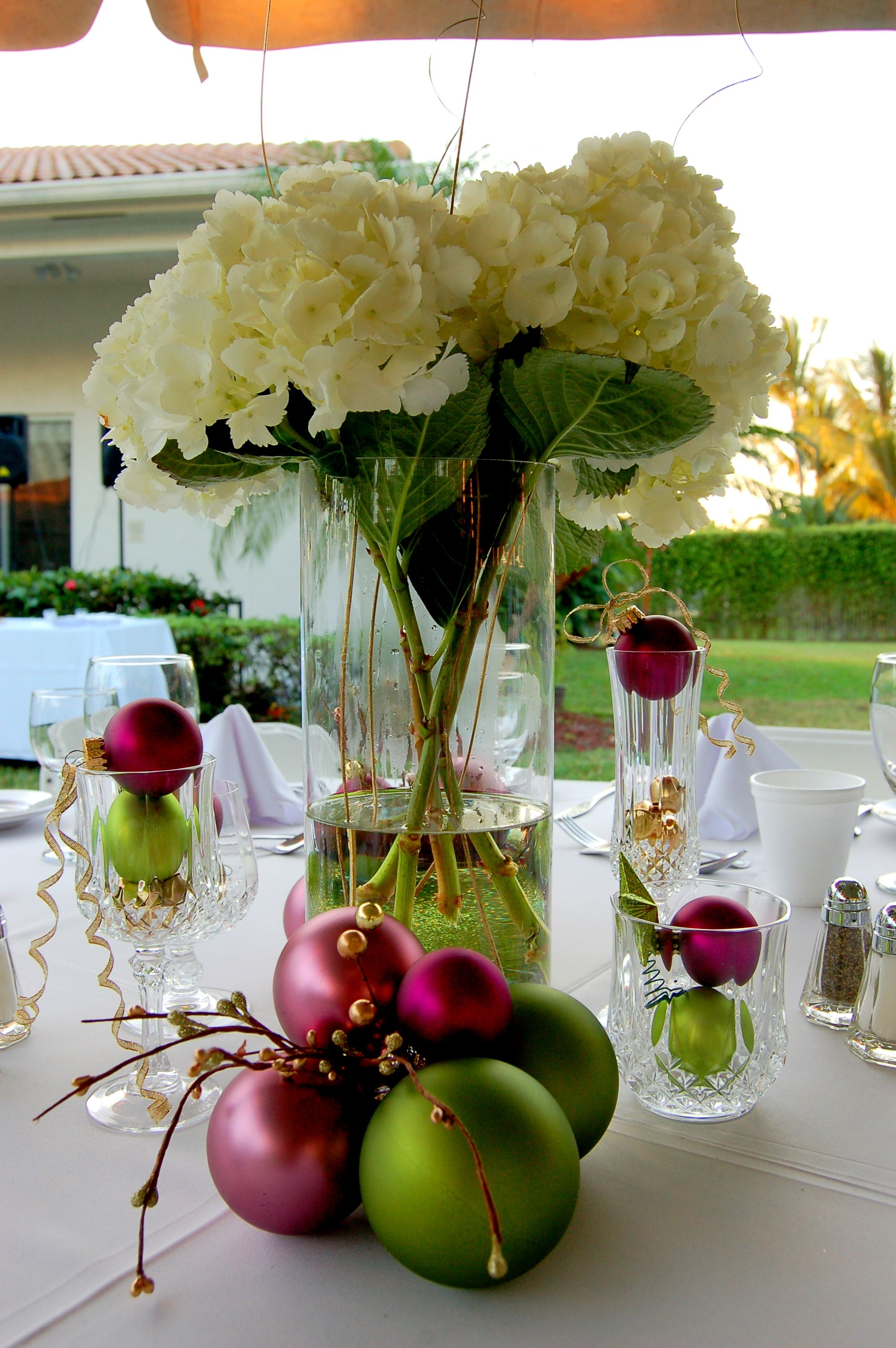 Centerpiece at the office holiday party! | Party Ideas | Pinterest