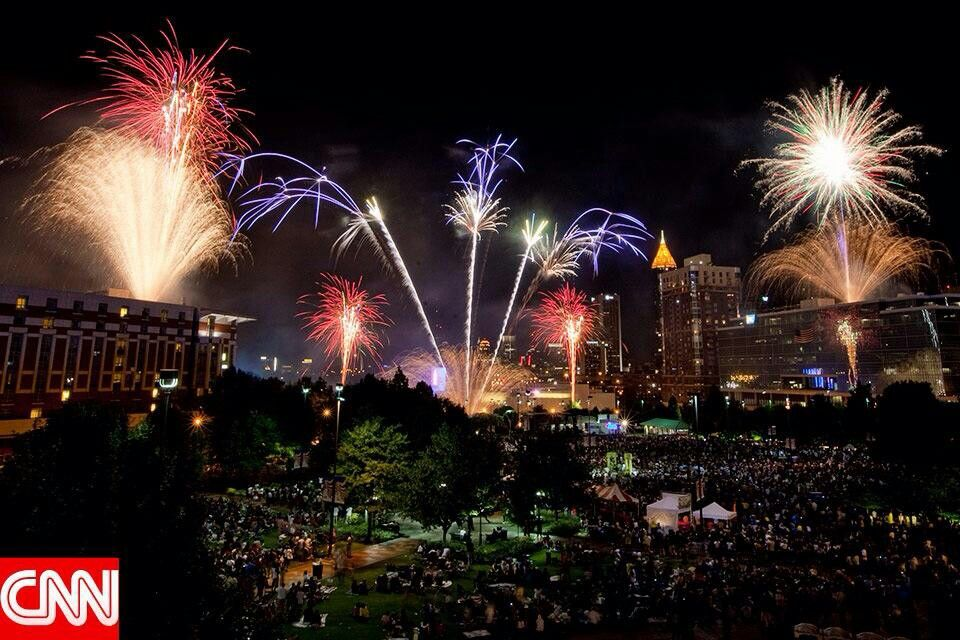 fourth of july in atlanta