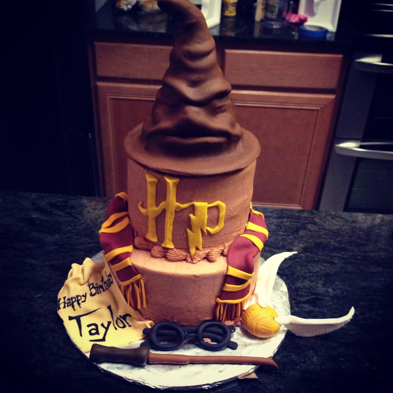 Harry Potter birthday cake Harry potter Pinterest