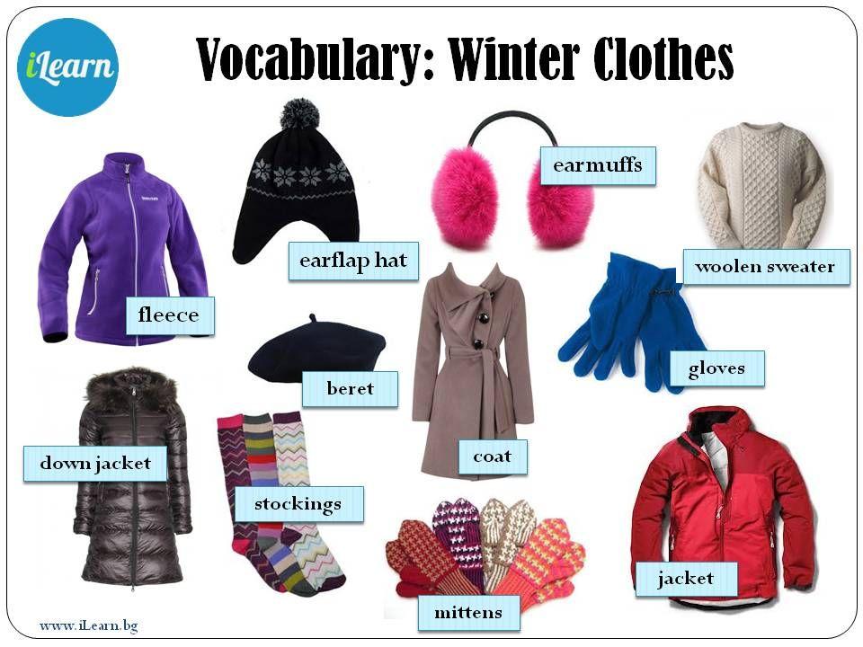 Winter Clothes Vocabulary | newhairstylesformen2014.com