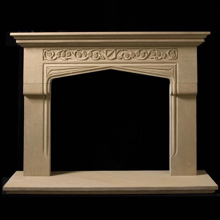 Tudor Gothic Fireplace For The Home Pinterest