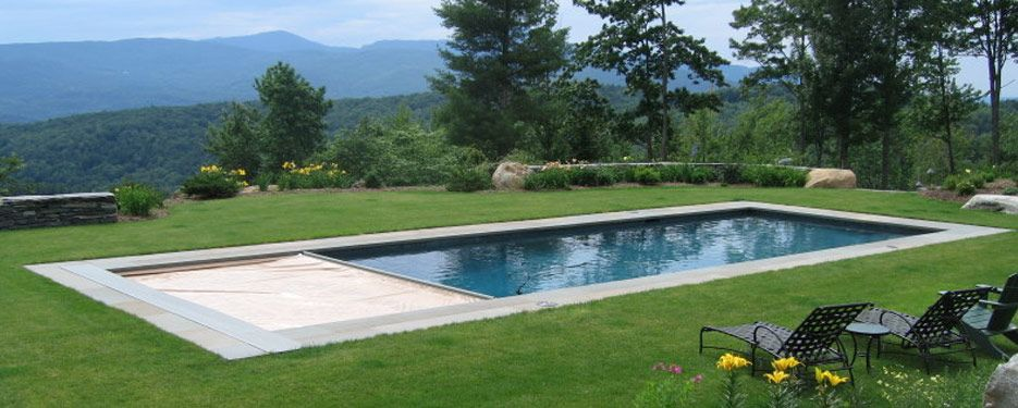Love a basic rectangle pool pools pinterest for Basic swimming pool designs