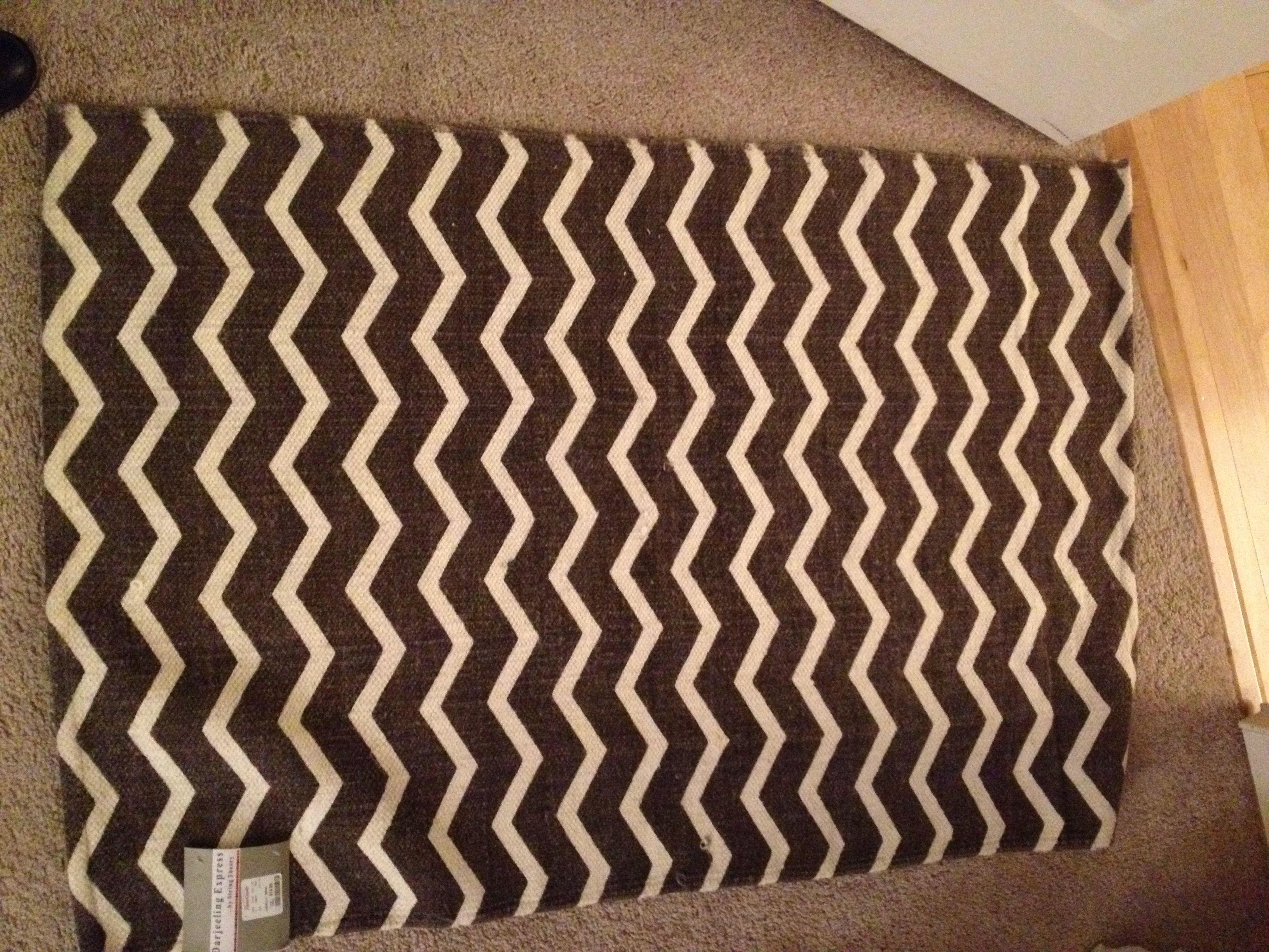 chevron rug from home goods store for the home pinterest