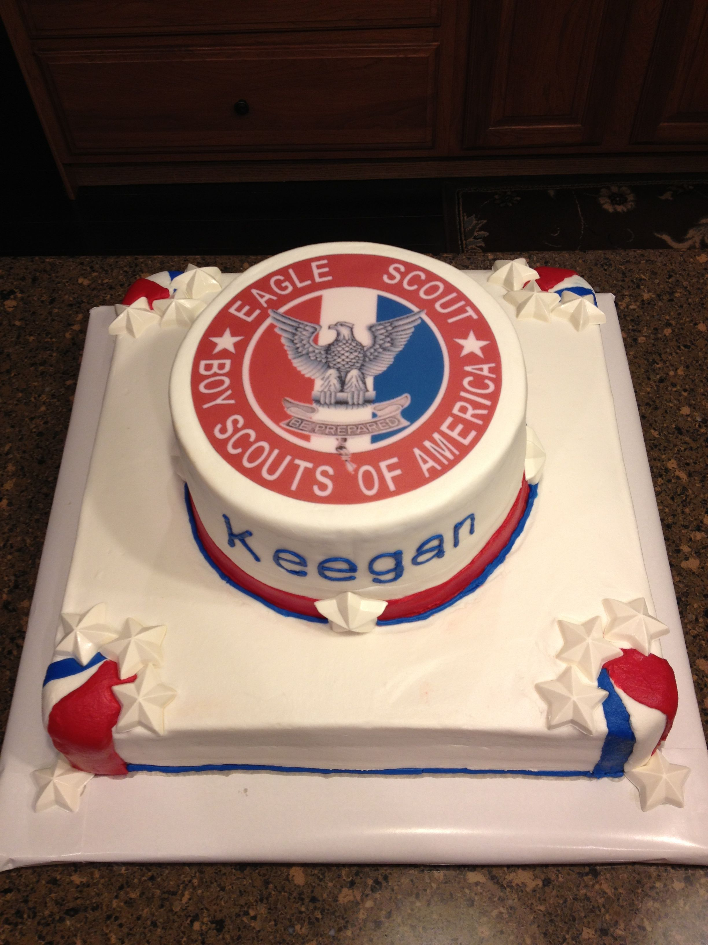 Boy Scouts Of America Cake Designs