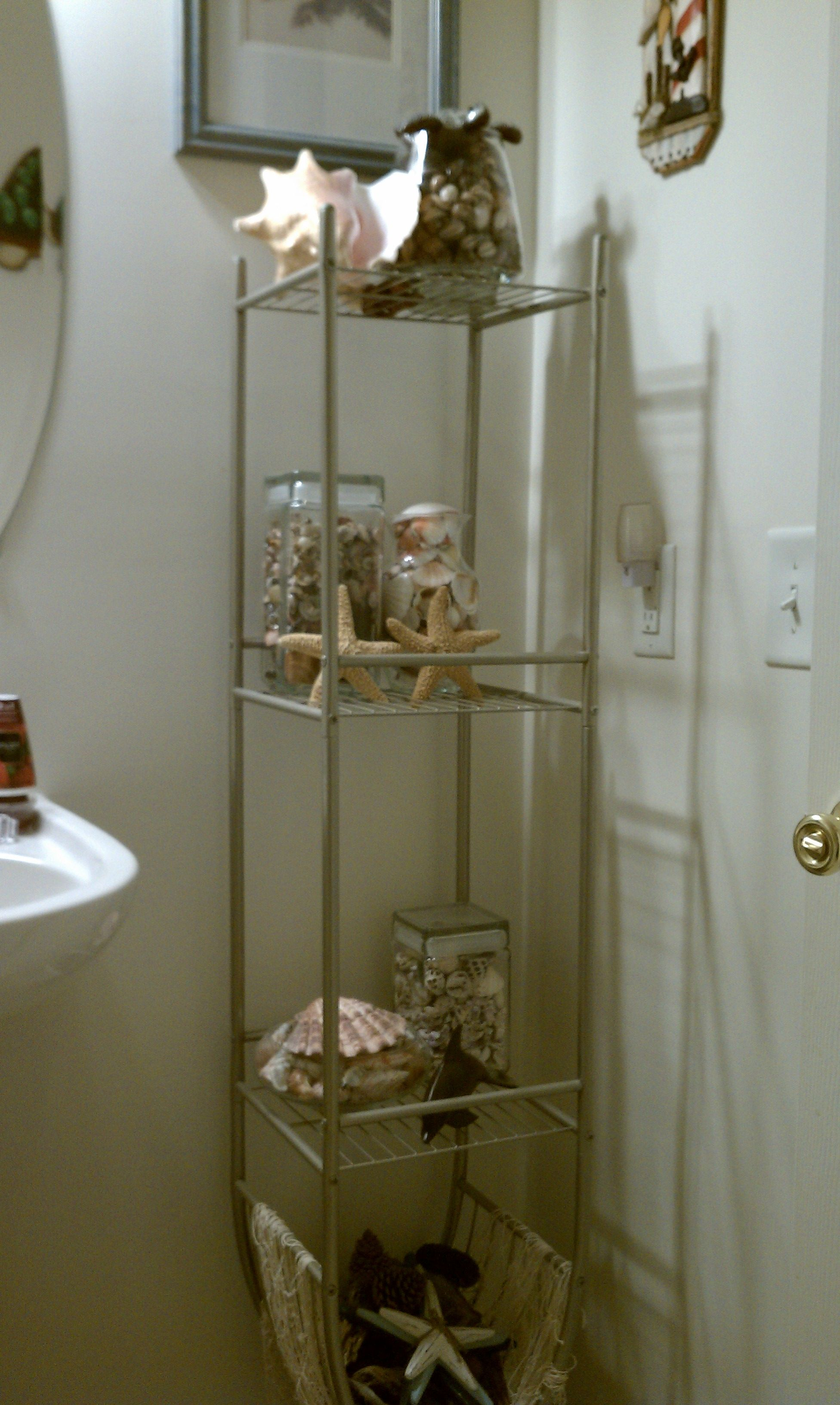 My Nautical Sea Shell Themed Bathroom For The Home