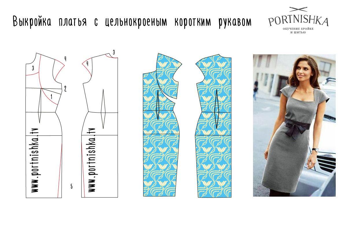 Выкройки платья с