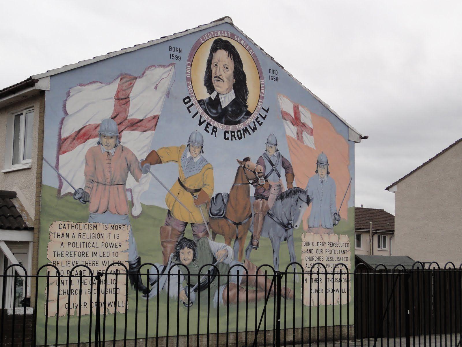 Mural from northern ireland northern ireland murals for Mural irlande
