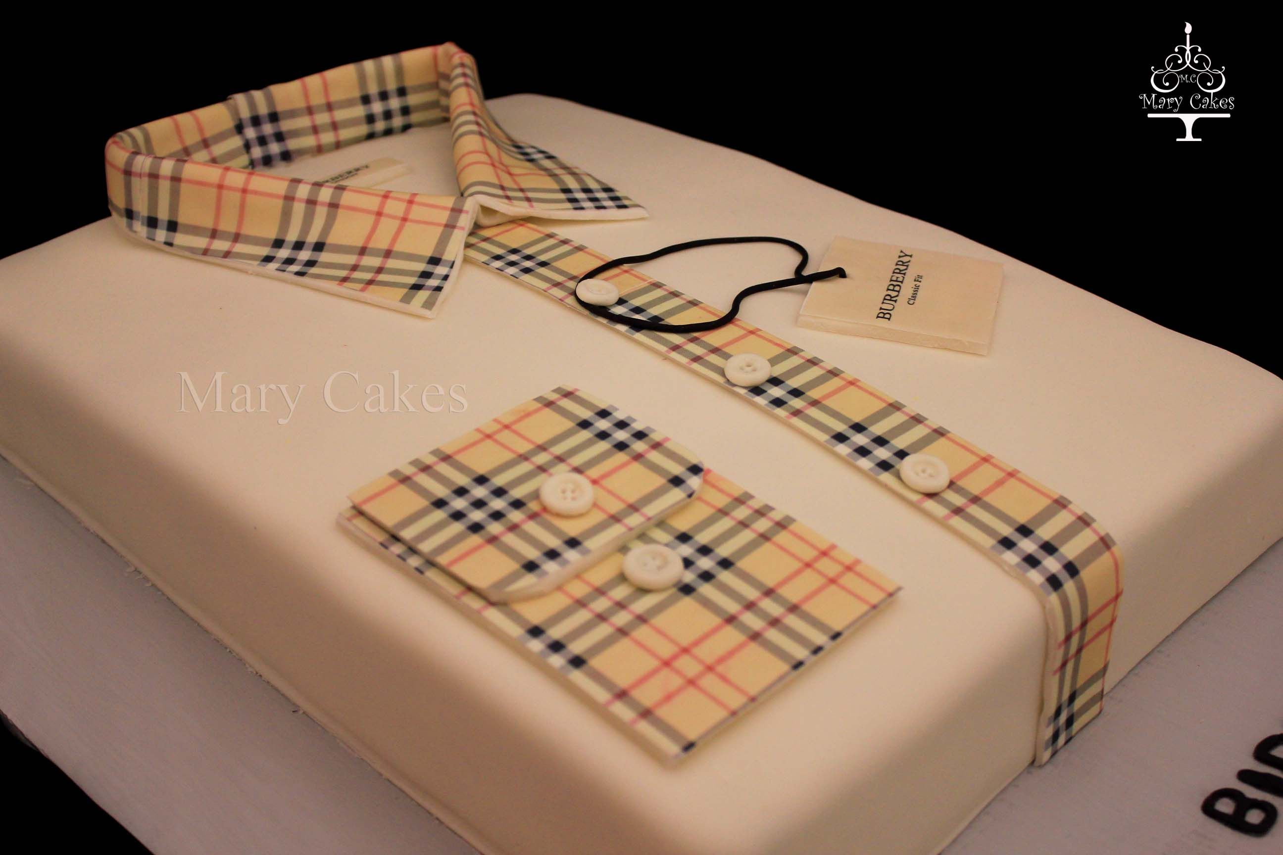 Cake Design Shirts : Burberry Dress shirt cake SHIRTS & TIES Pinterest
