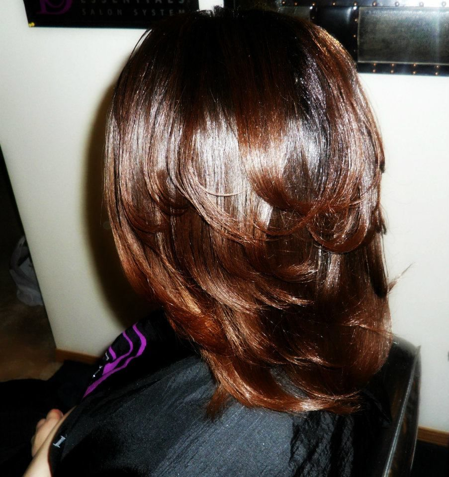 growing healthy relaxed hair real relaxed