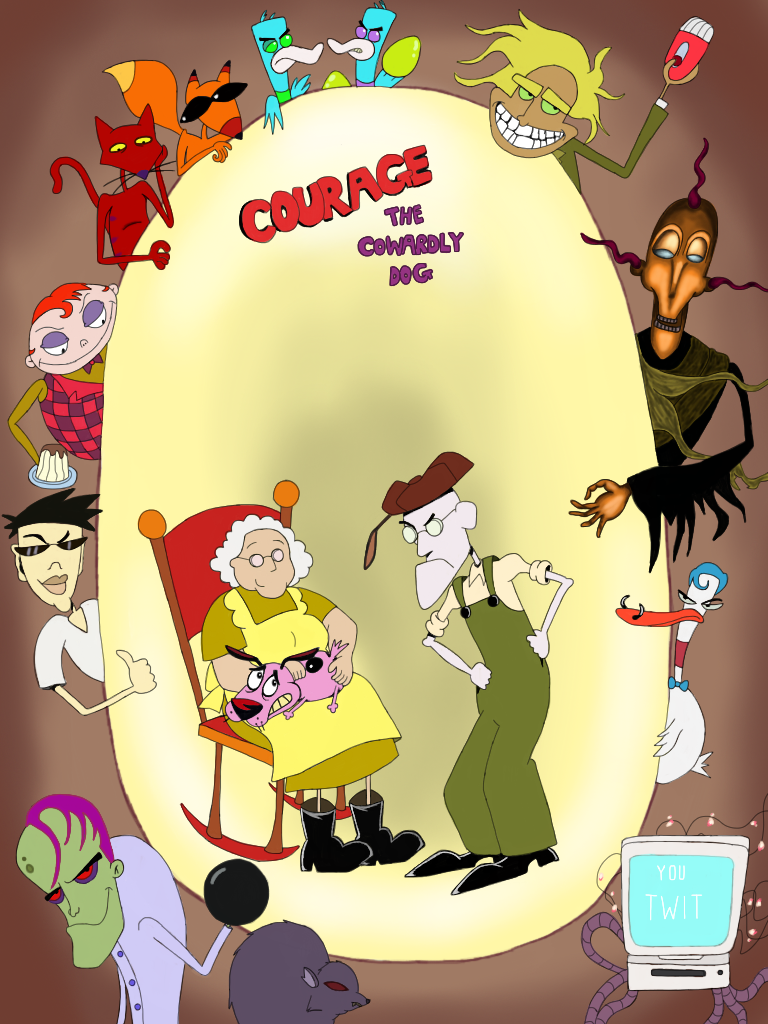 Courage the Cowardly Dog – Episode 11 – Heads of Beef