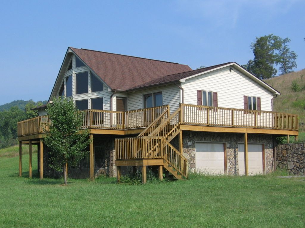 301 moved permanently for Deck around house