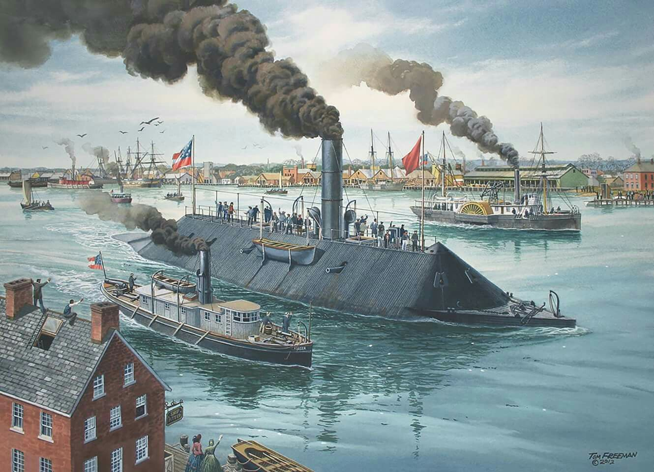 Civil war ships photo