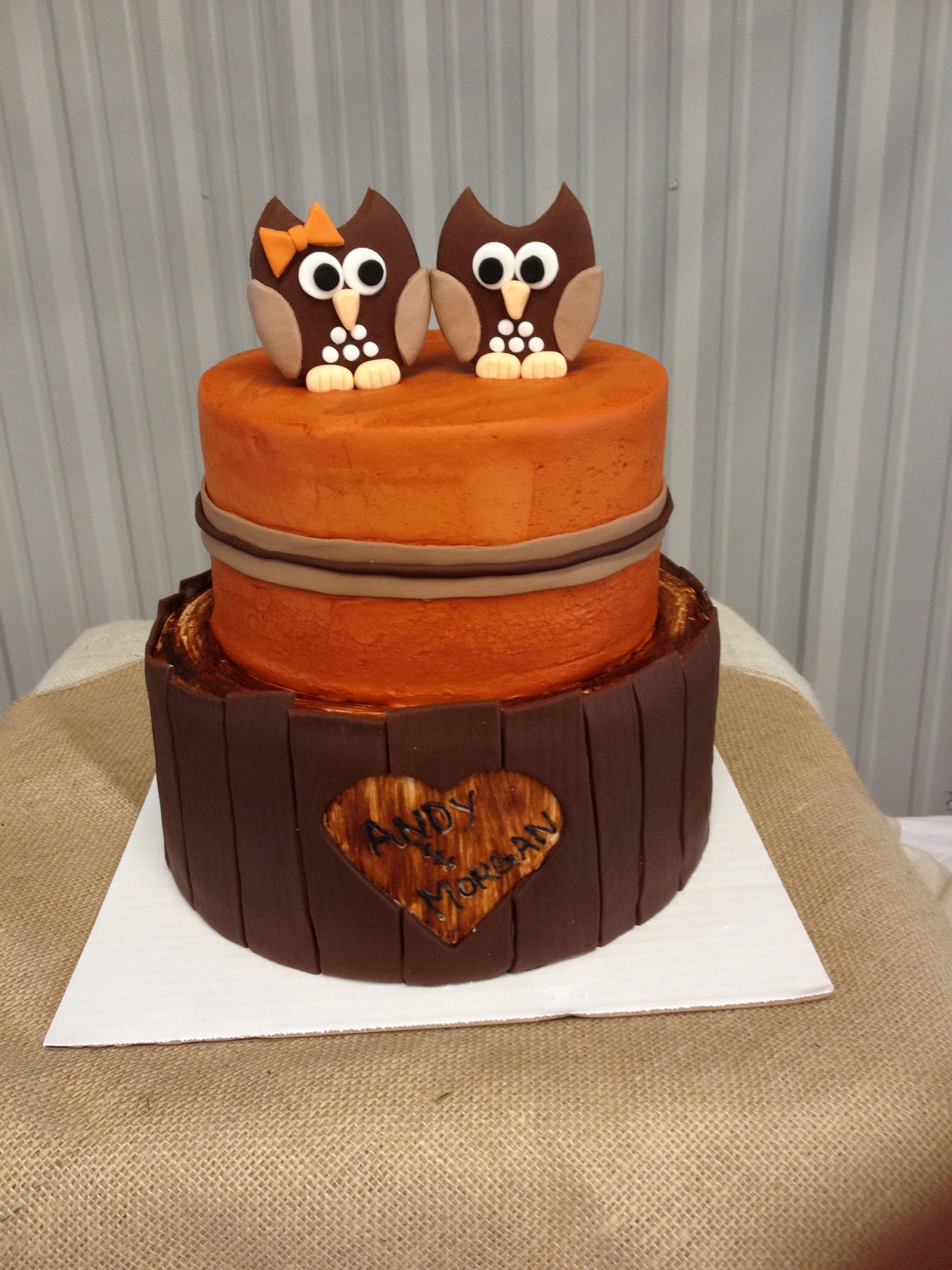 Couples wedding shower cake Cakes
