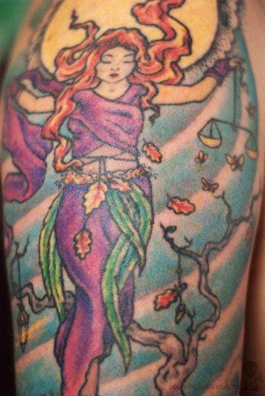 Moon goddess tattoo | Tattoo Art | Pinterest