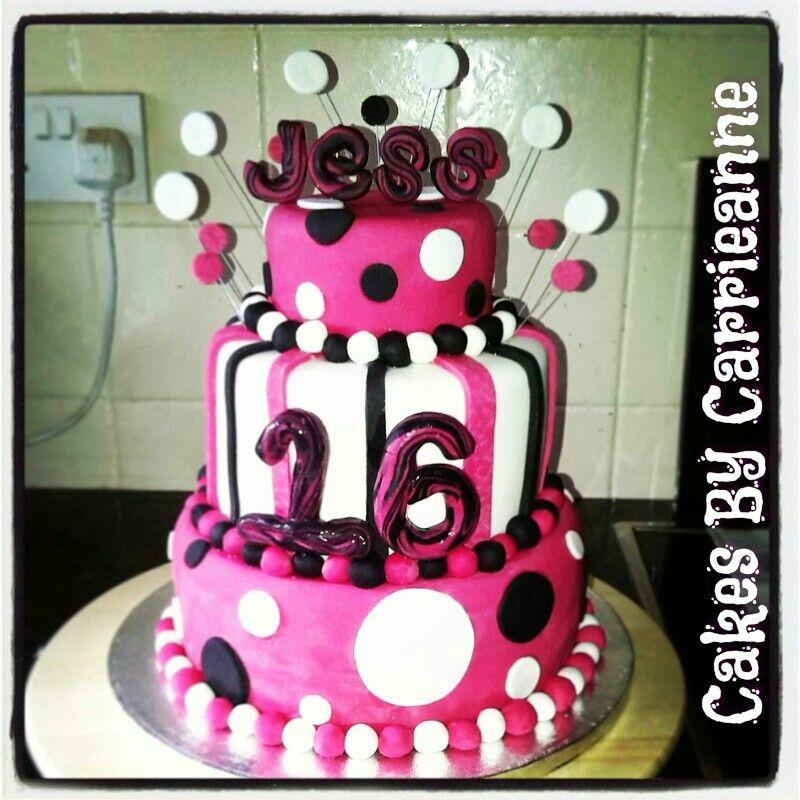 16th birthday cakes pinterest