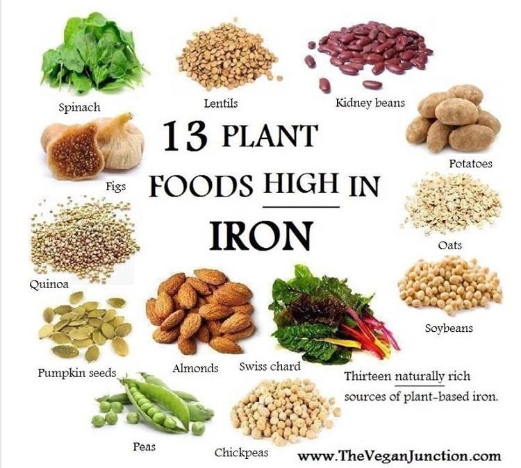 Top iron high foods – Foods with rich iron content